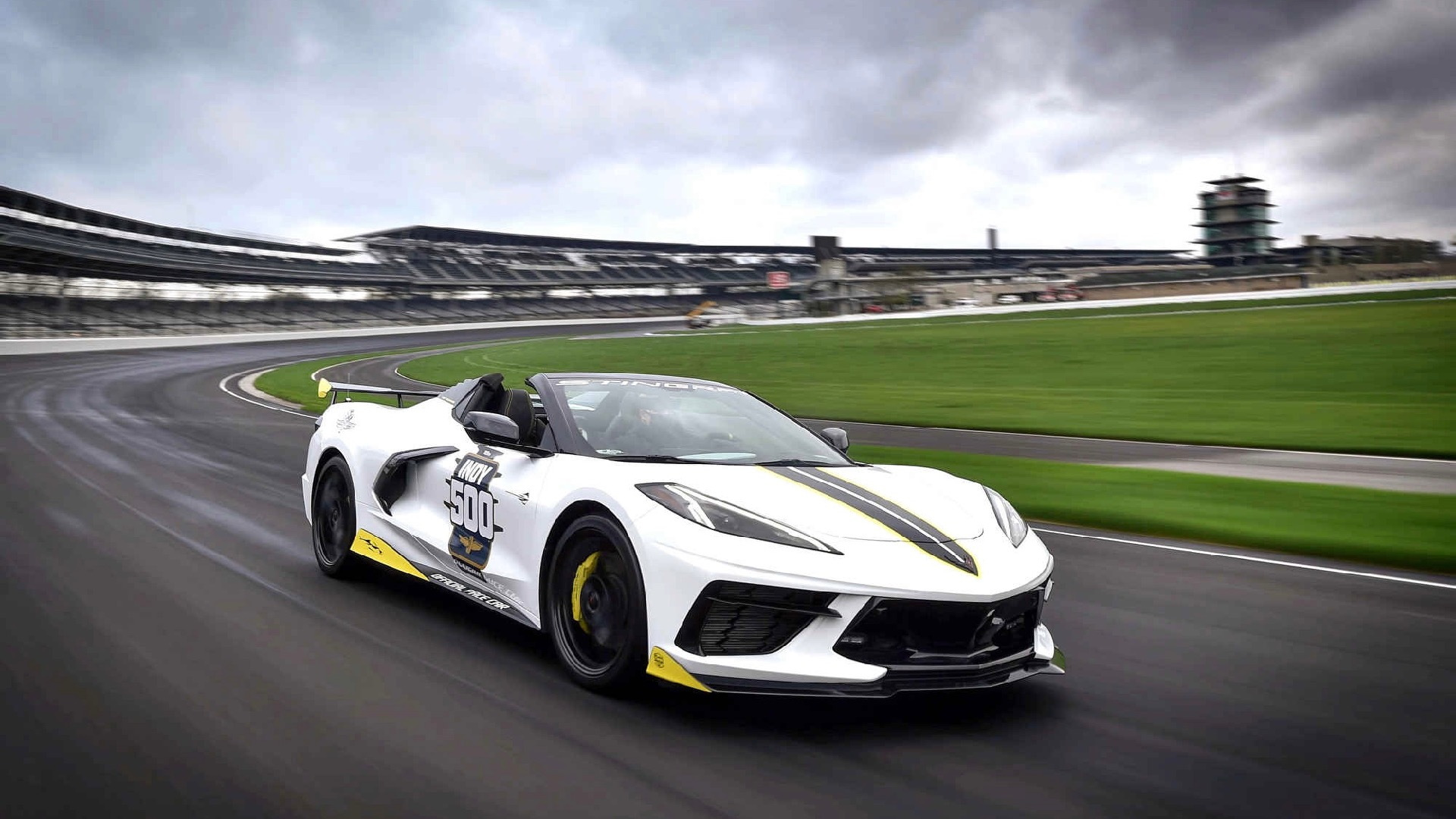 2021 Chevrolet Corvette Stingray Constlible Indianapolis 500步行汽车