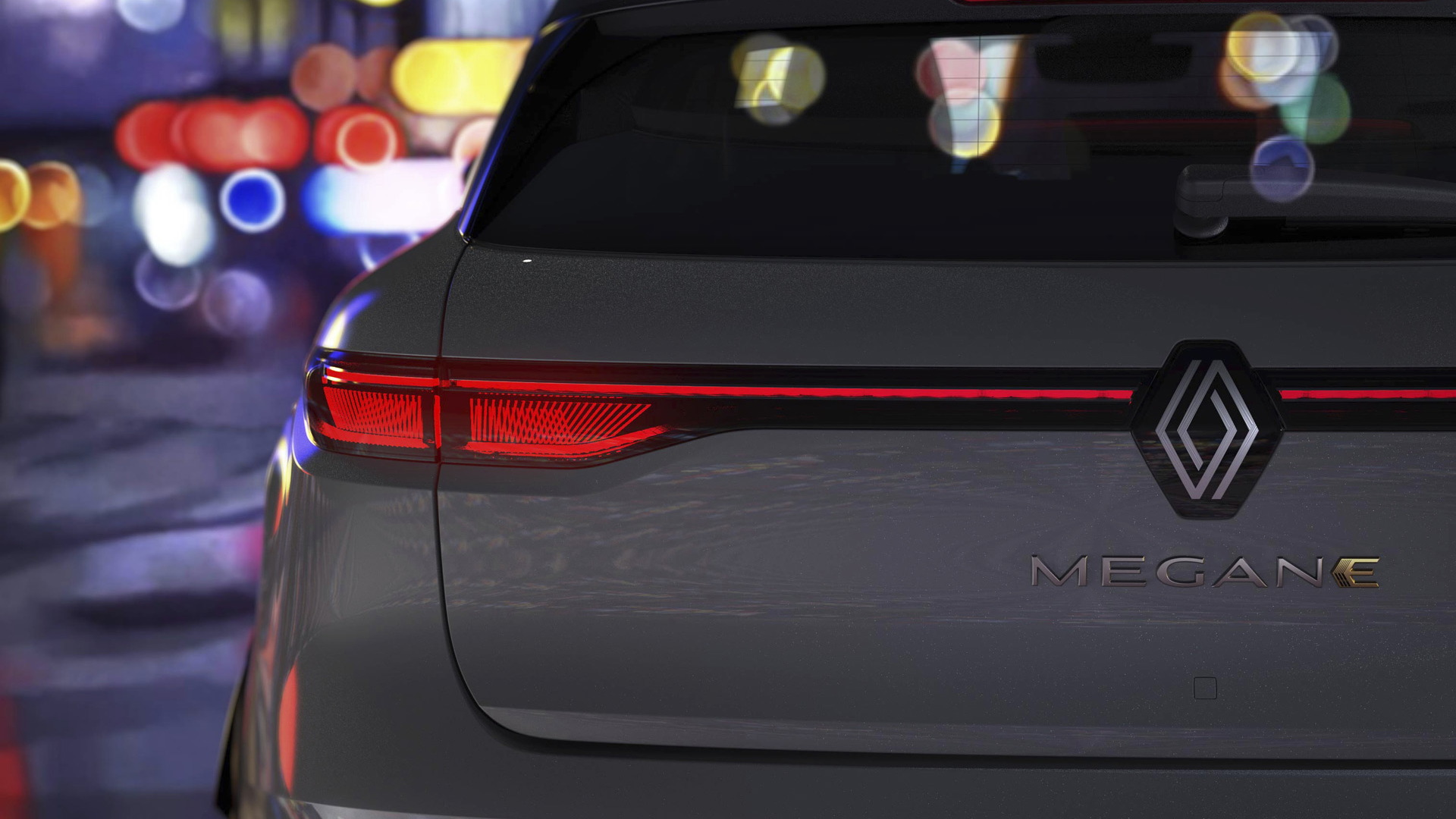 Teaser for Renault Megane E-Tech Electric due in 2022