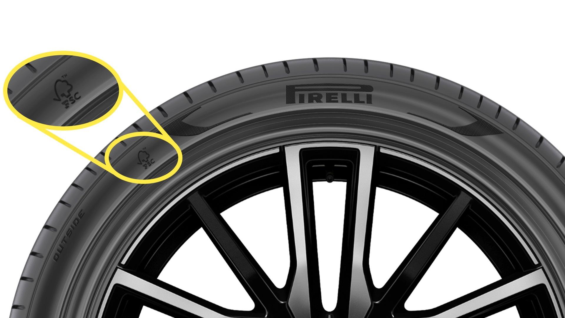 FSC-certified Pirelli P-Zero tire for BMW X5 xDrive45e