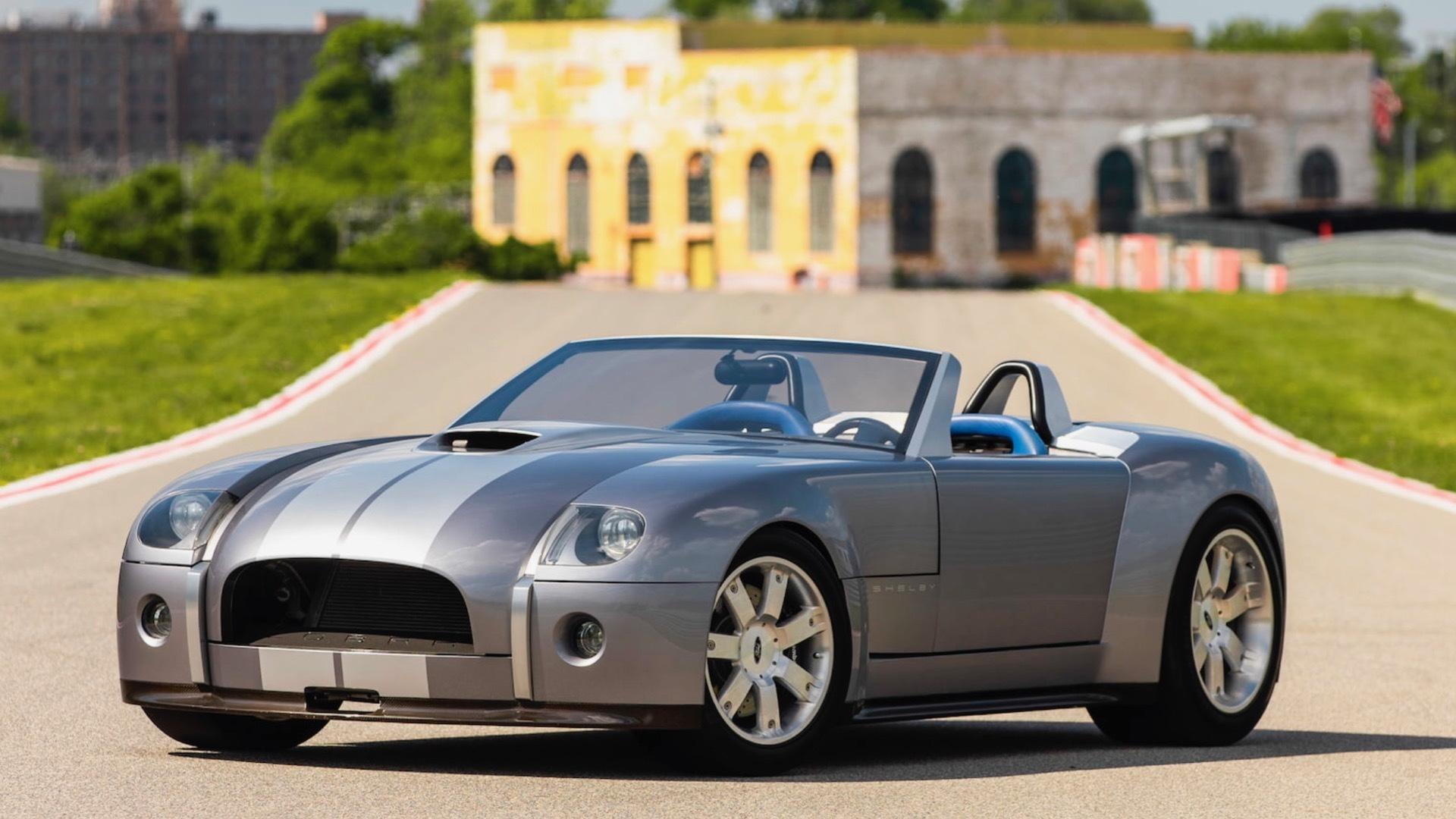 2004 Ford Shelby Cobra concept (Photo via Mecum Auctions)