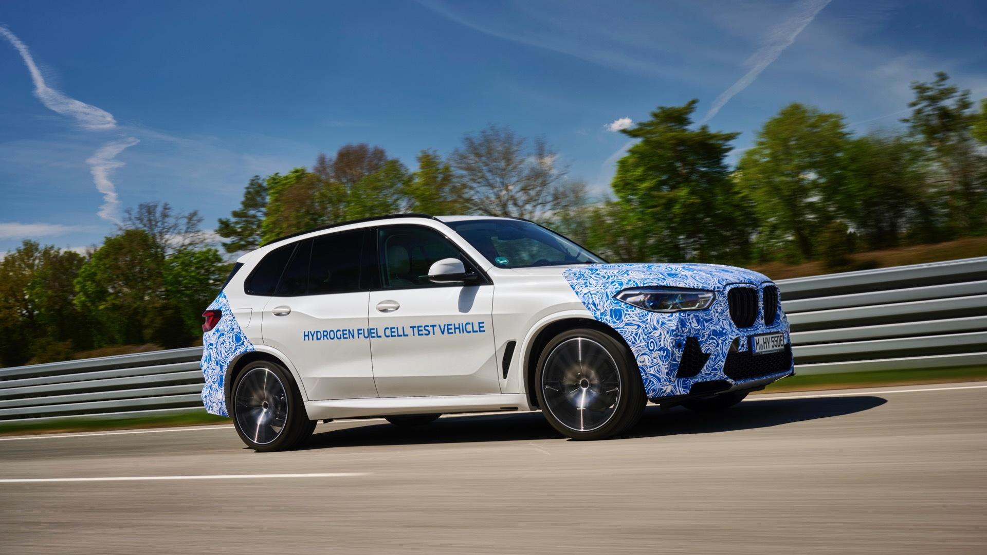 BMW i Hydrogen Next testing
