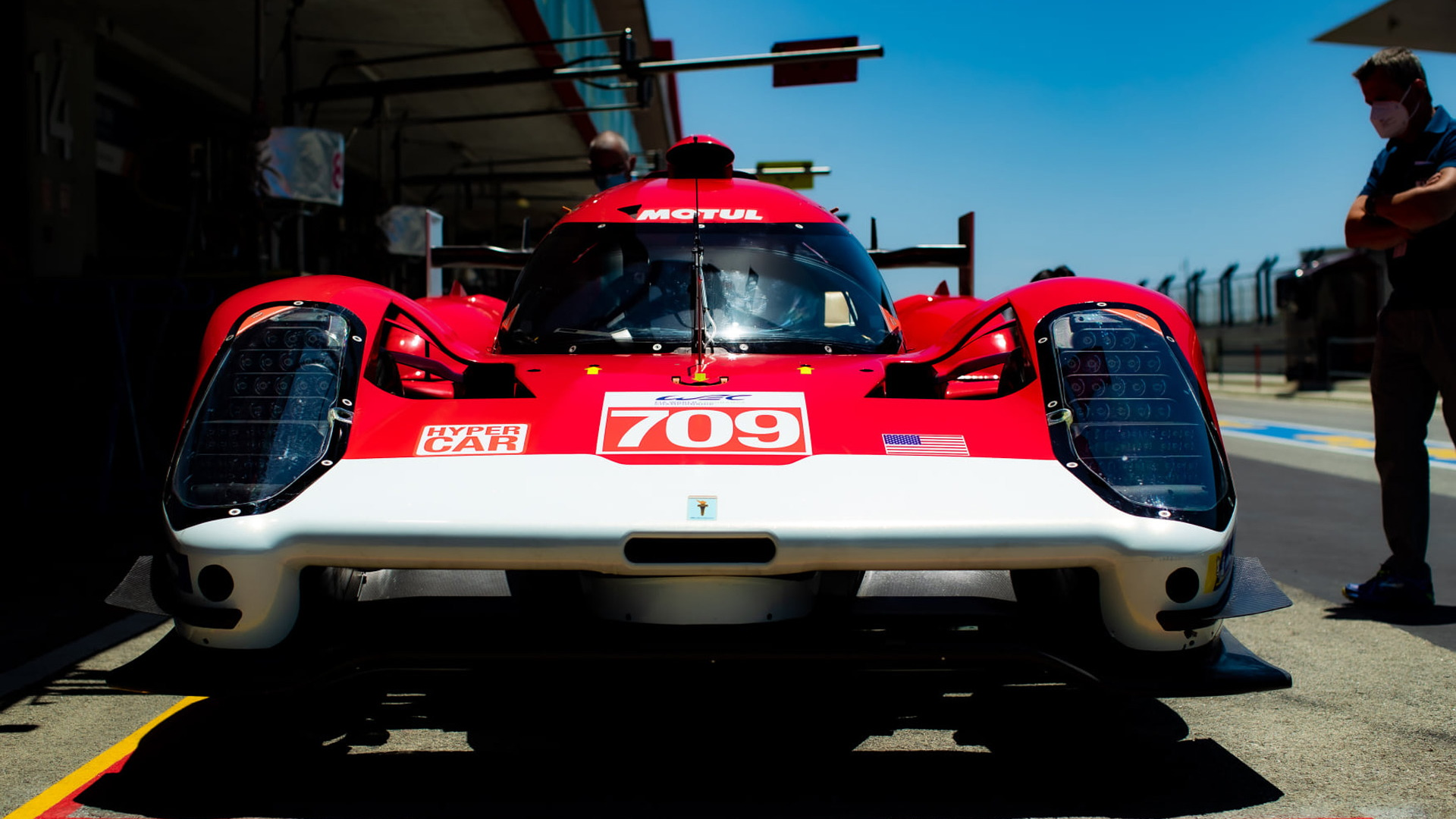 No. 709 Glickenhaus 007 LMH at the 2021 8 Hours of Portimao - Photo credit: FIA WEC
