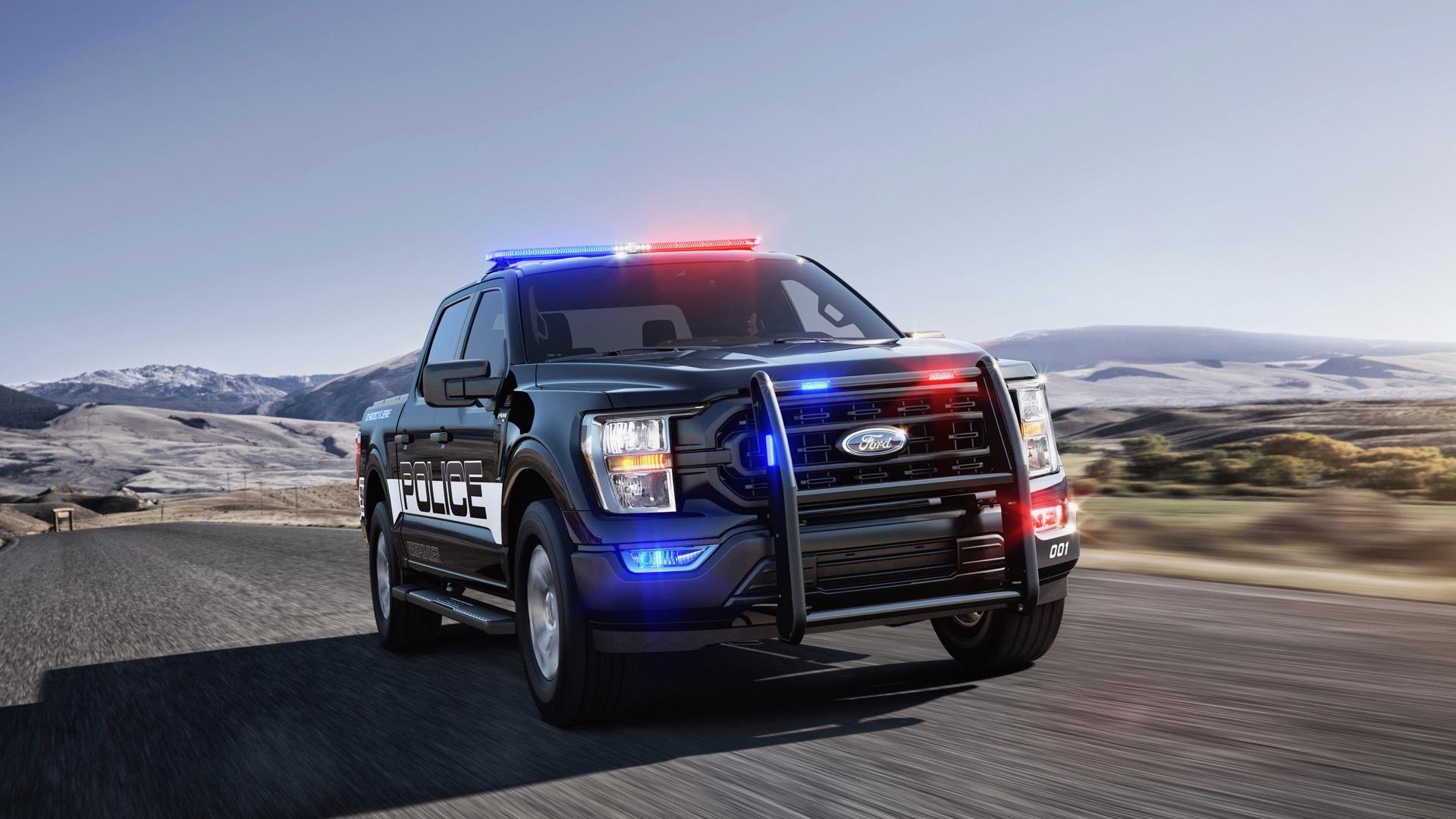 2021 Ford F-150 Police Responder