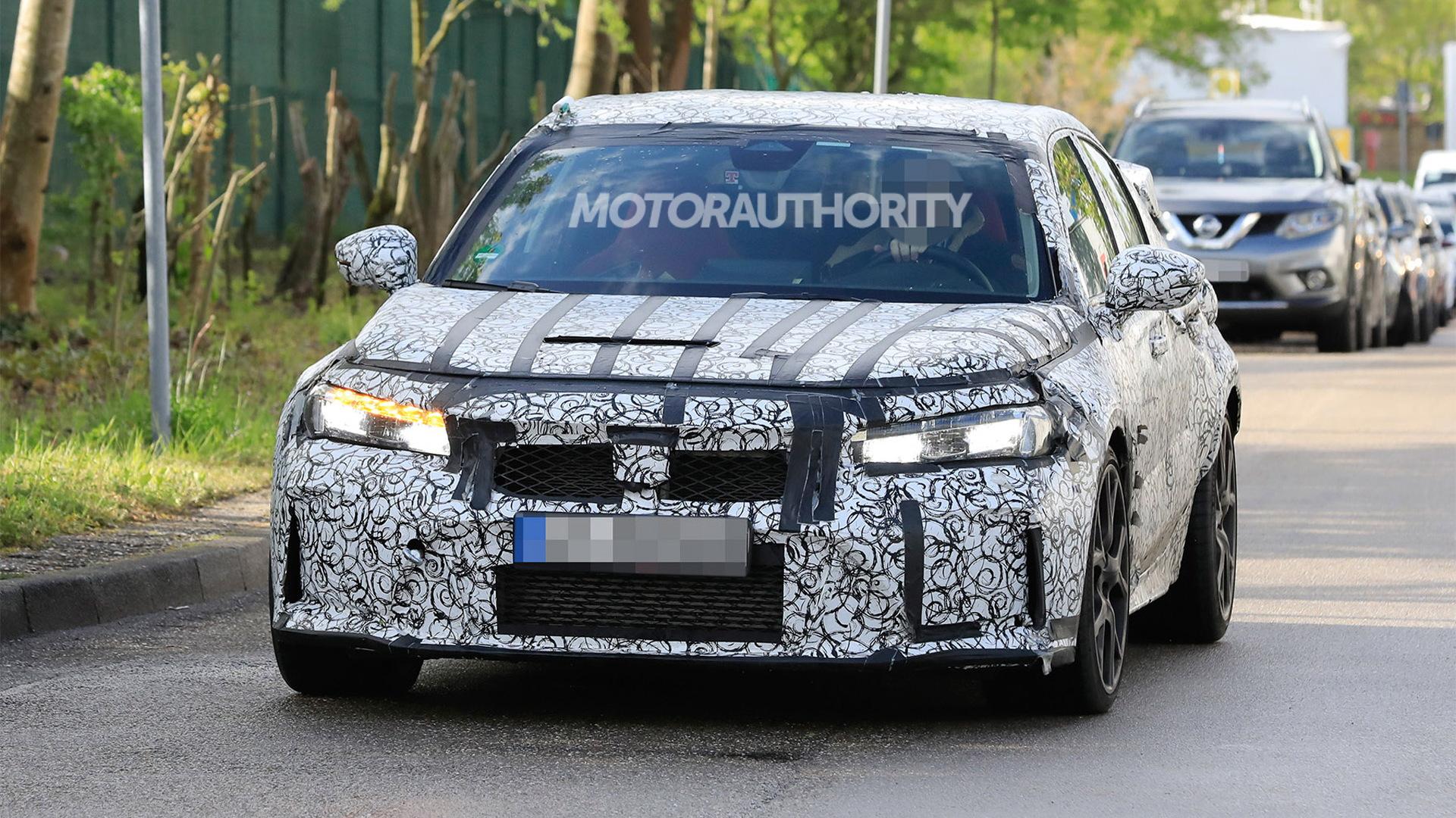 2022 Honda Civic Type R spy shots - Photo credit:S. Baldauf/SB-Medien