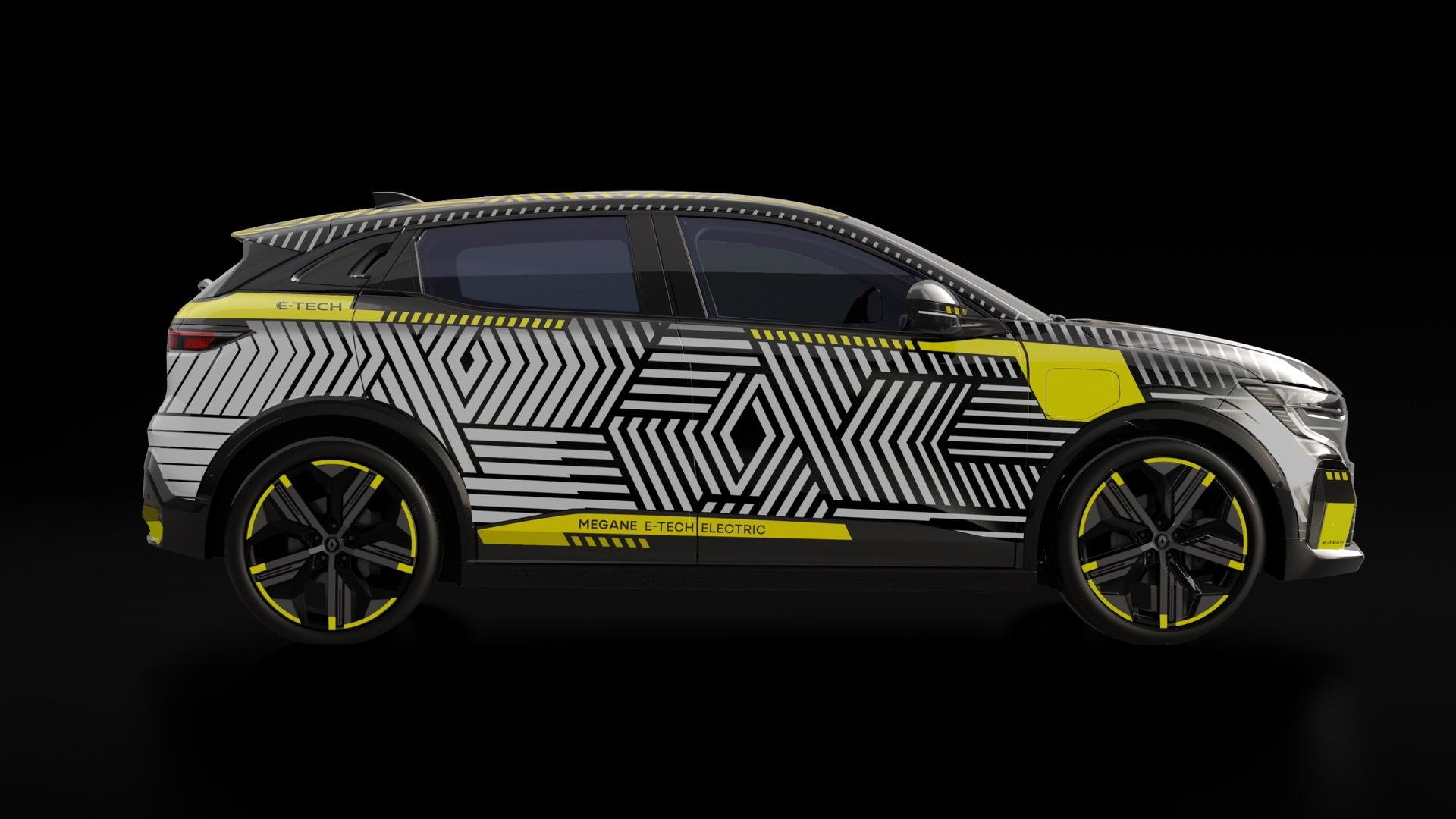 Renault MéganE in Renault eWays ElectroPop presentation