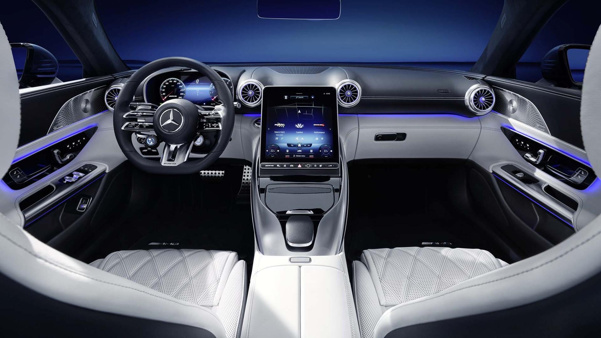 2022 Mercedes-Benz AMG SL Roadster