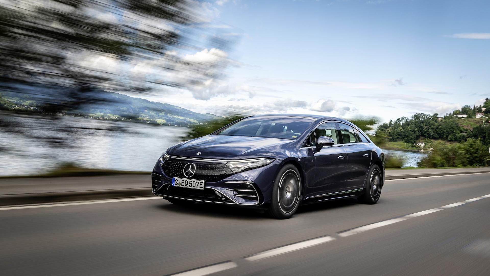 2022 Mercedes-Benz EQS first drive (EQS 450+)