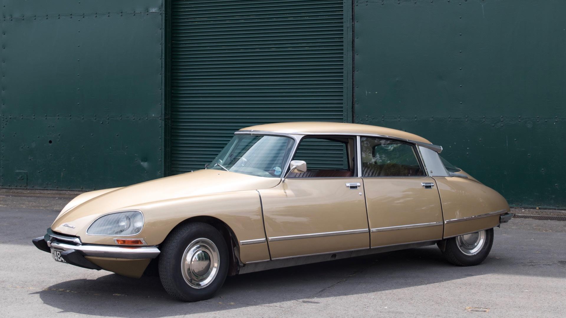 Electrogenic 1971 Citroën DS EV conversion