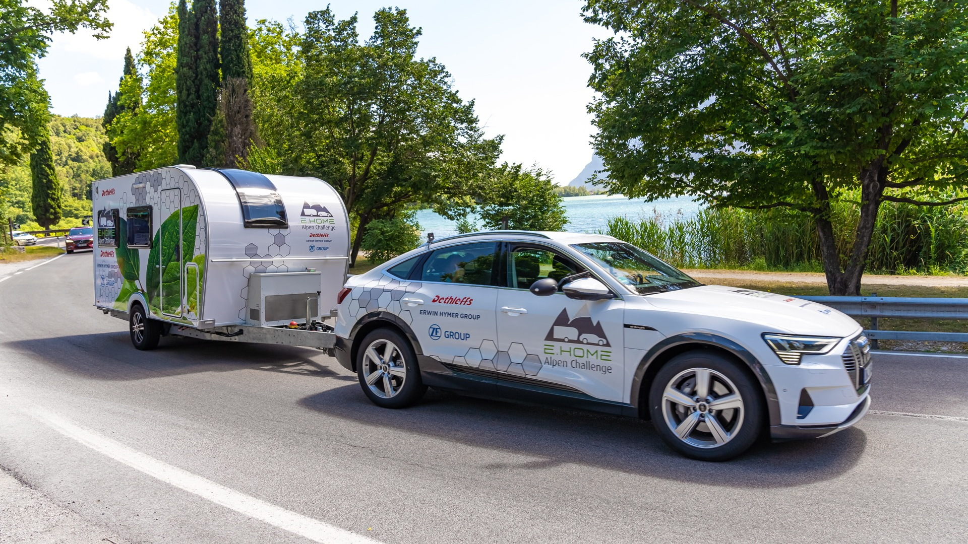 Dethleffs E.Home Caravan electric camping trailer prototype