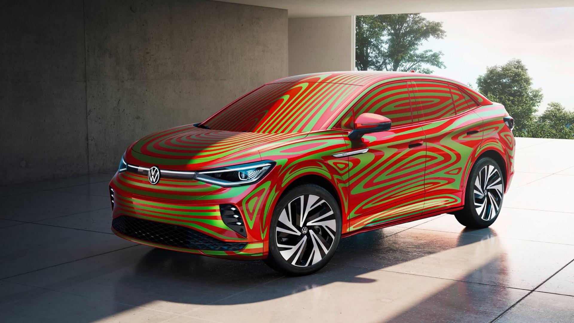 Teaser for 2022 Volkswagen ID.5 GTX