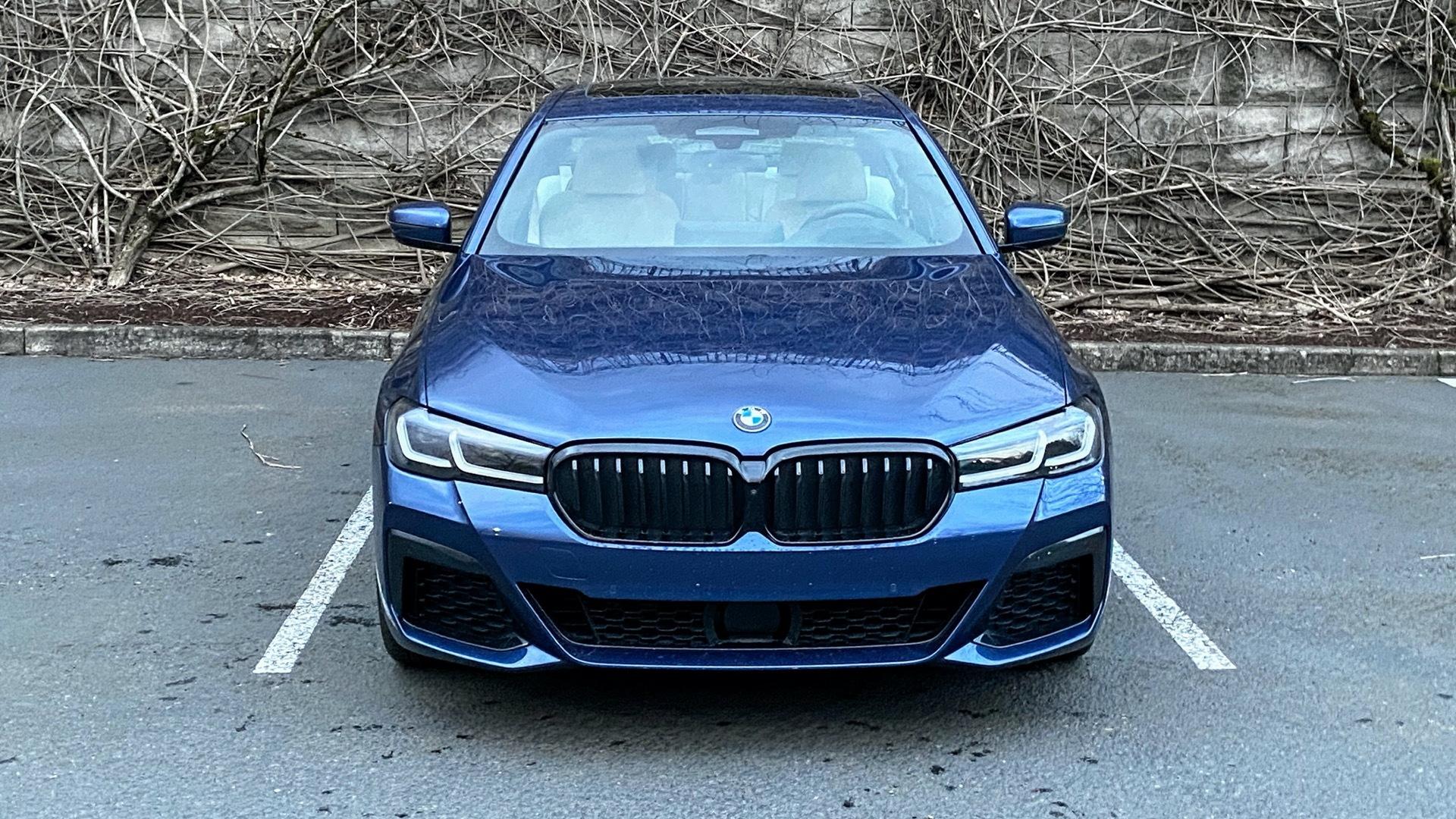 2021 BMW 530e plug-in hybrid