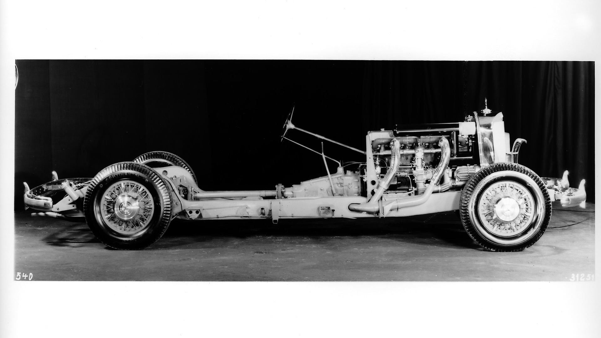 Mercedes-Benz 540K chassis