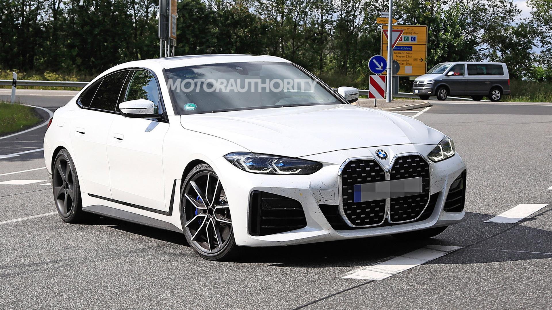2023 BMW Alpina B4 Gran Coupe spy shots - Photo credit:S. Baldauf/SB-Medien
