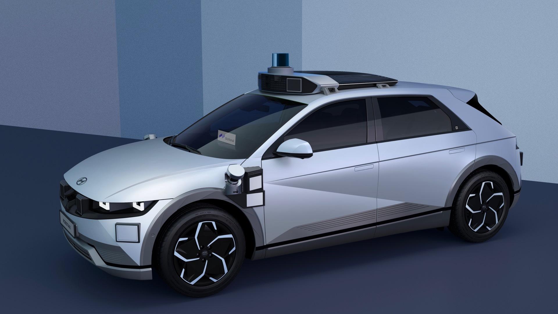 Hyundai Ioniq 5 self-driving car