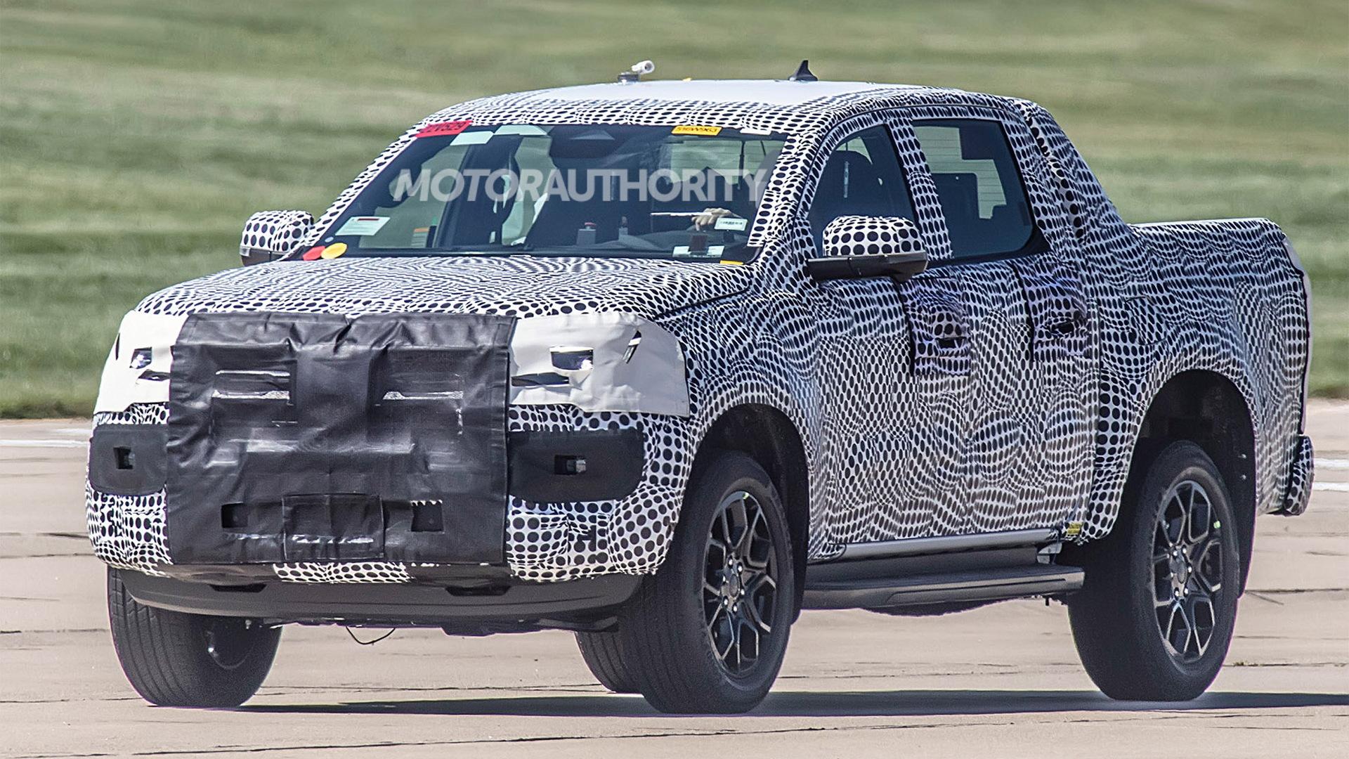 2022 Volkswagen Amarok spy shots – Photo credit:S. Baldauf/SB-Medien