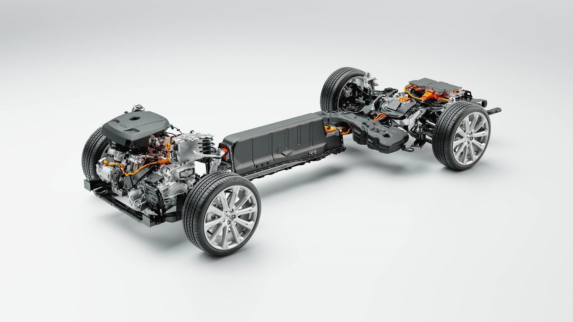 Volvo plug-in hybrid system