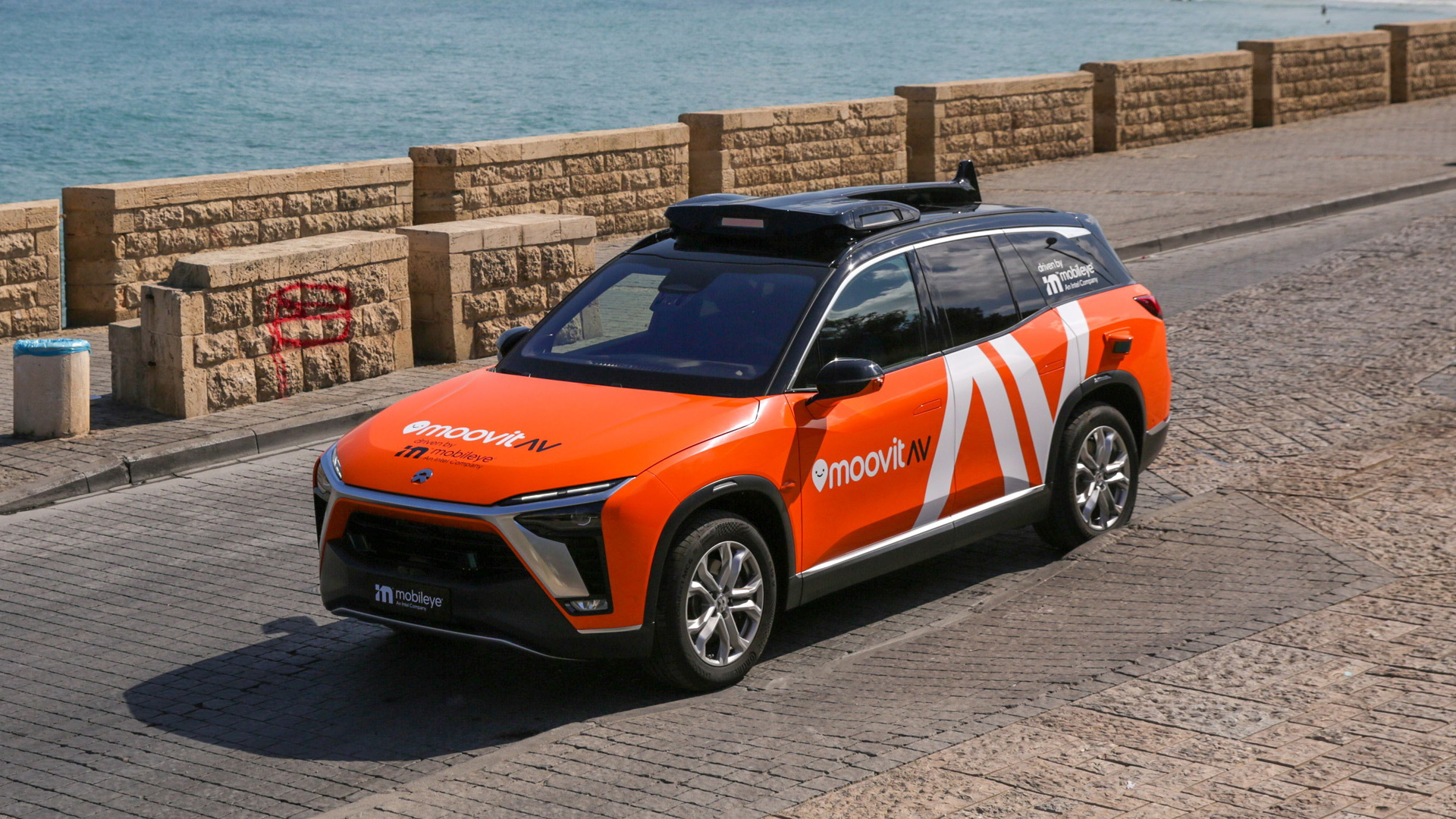 Mobileye self-driving taxi