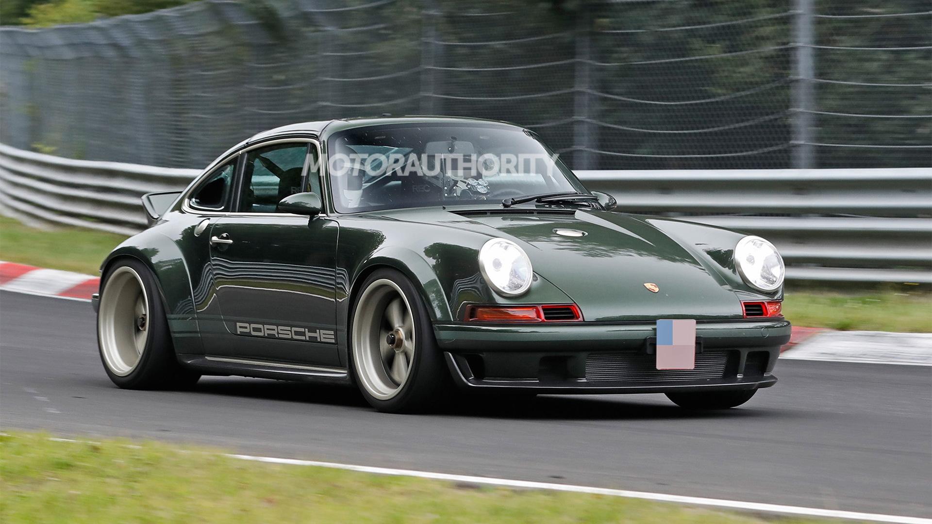 Singer 911 DLS at the Nürburgring - Photo credit: S. Baldauf/SB-Medien