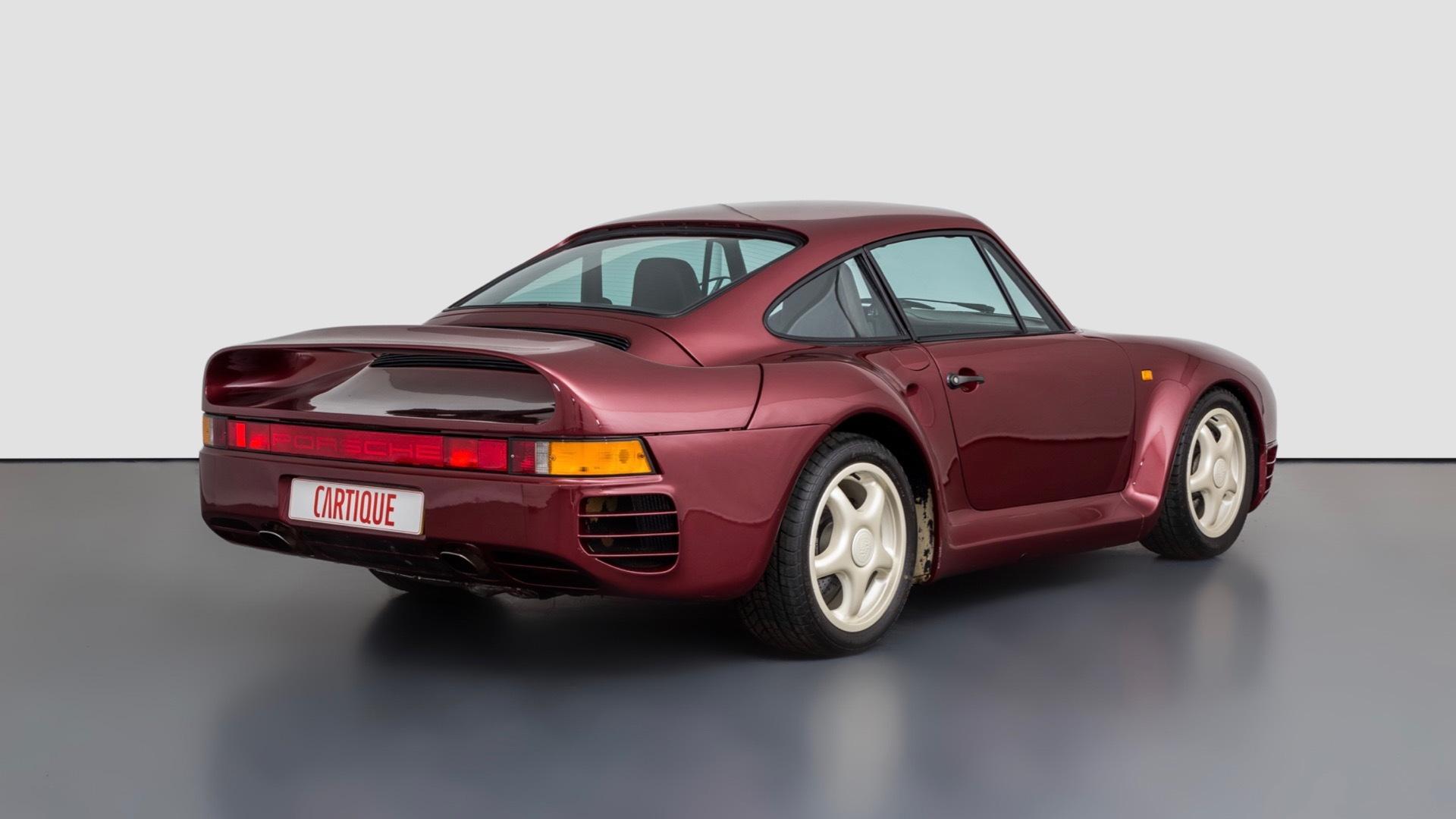 Porsche 959 prototype (photo via Mechatronik)