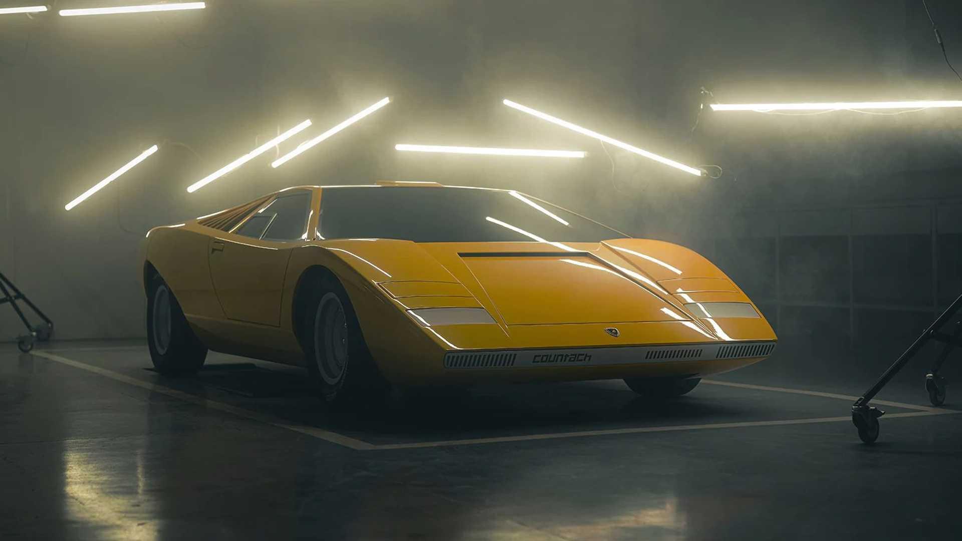 Lamborghini Countach LP500 prototype recreation