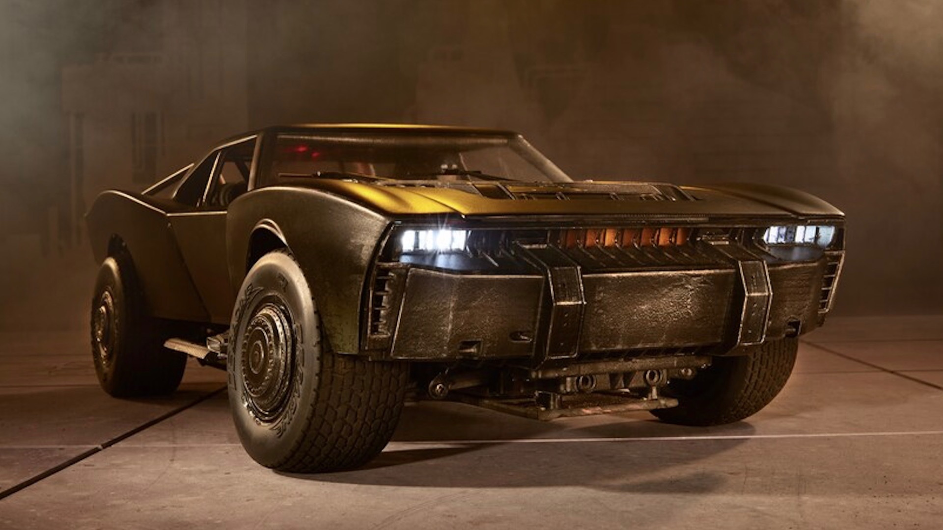 """The Batman"" Hot Wheels RC Batmobile"