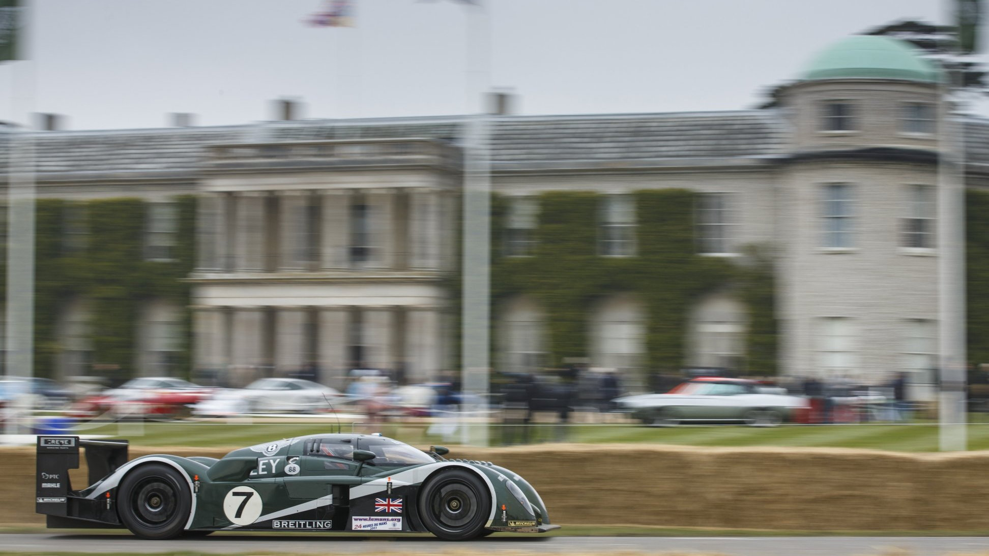 The Bentley Speed 8 at the Goodwood Festival of Speed - image: Bentley