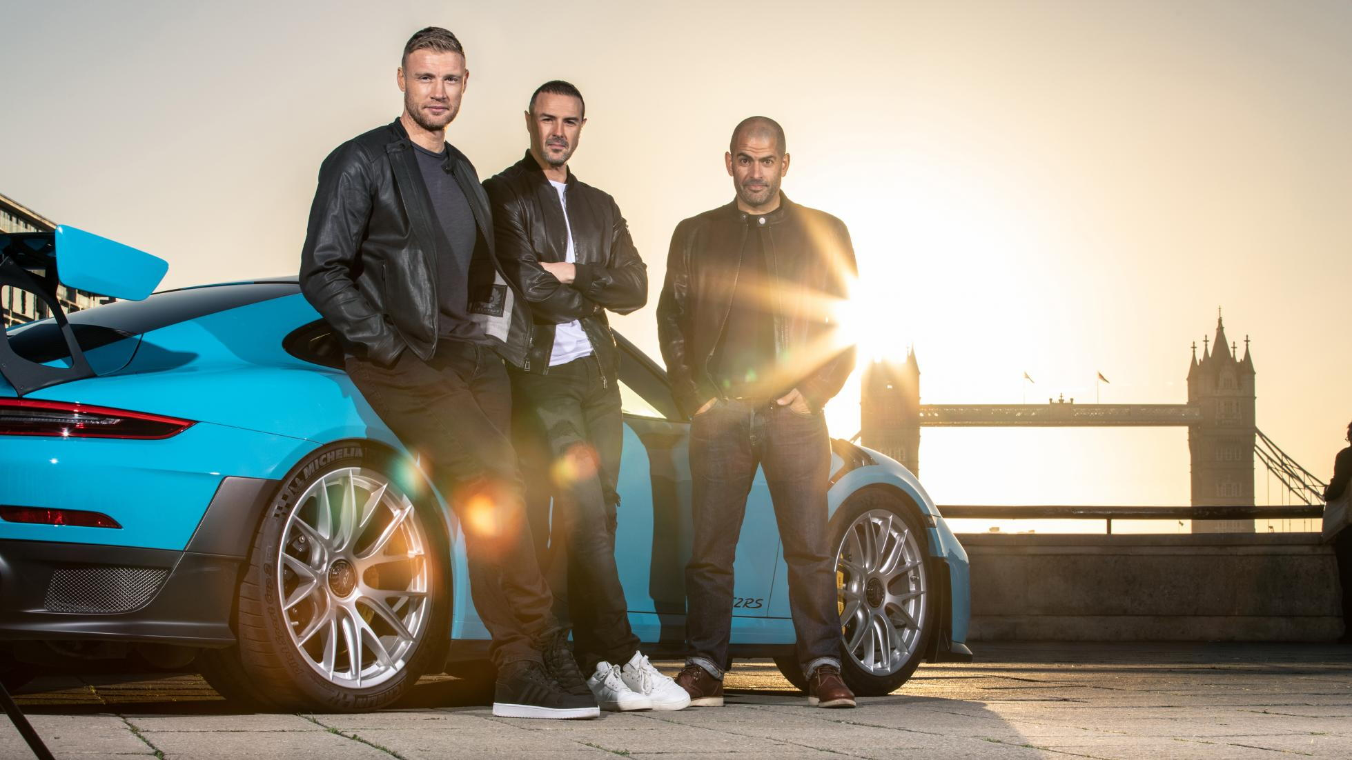 The new Top Gear trio