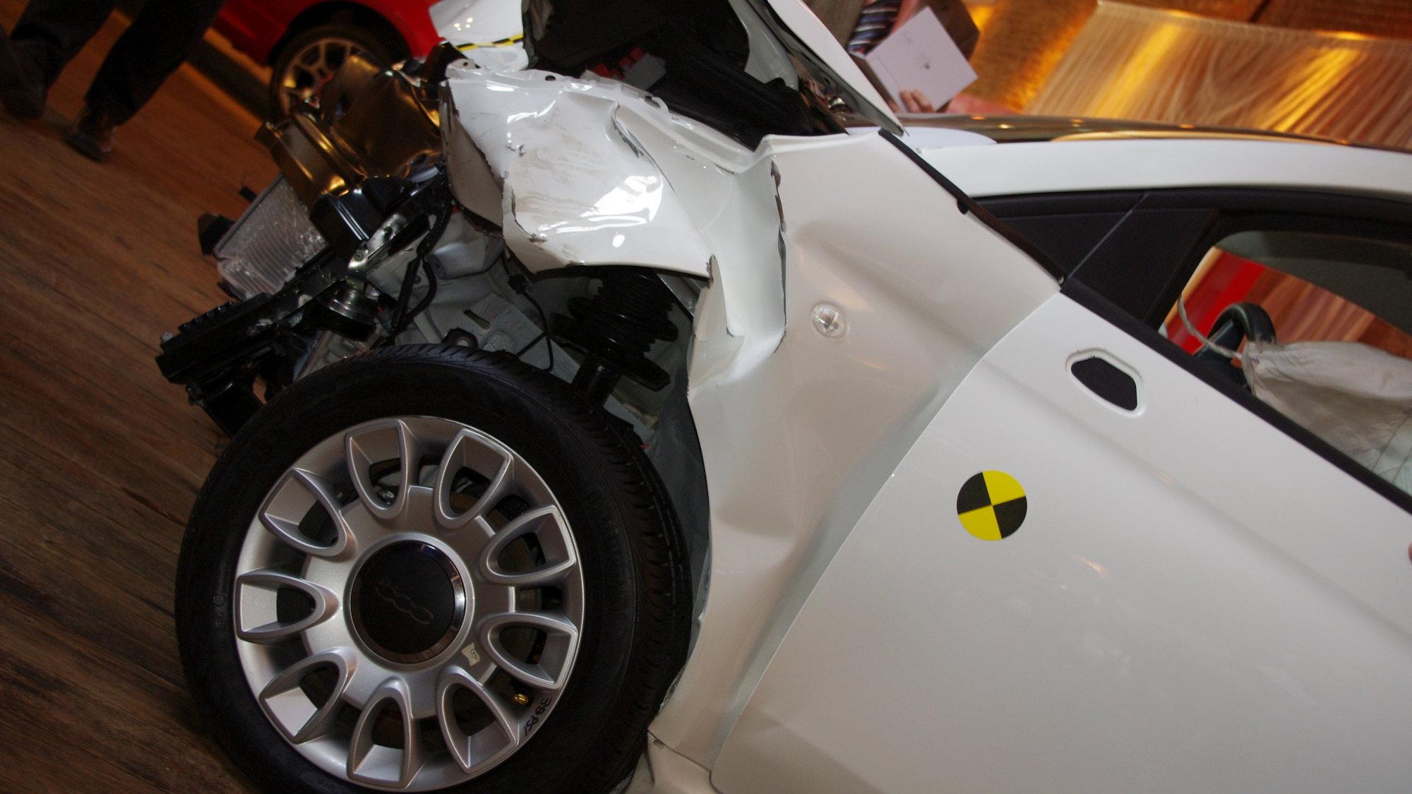 Impressive crash protection