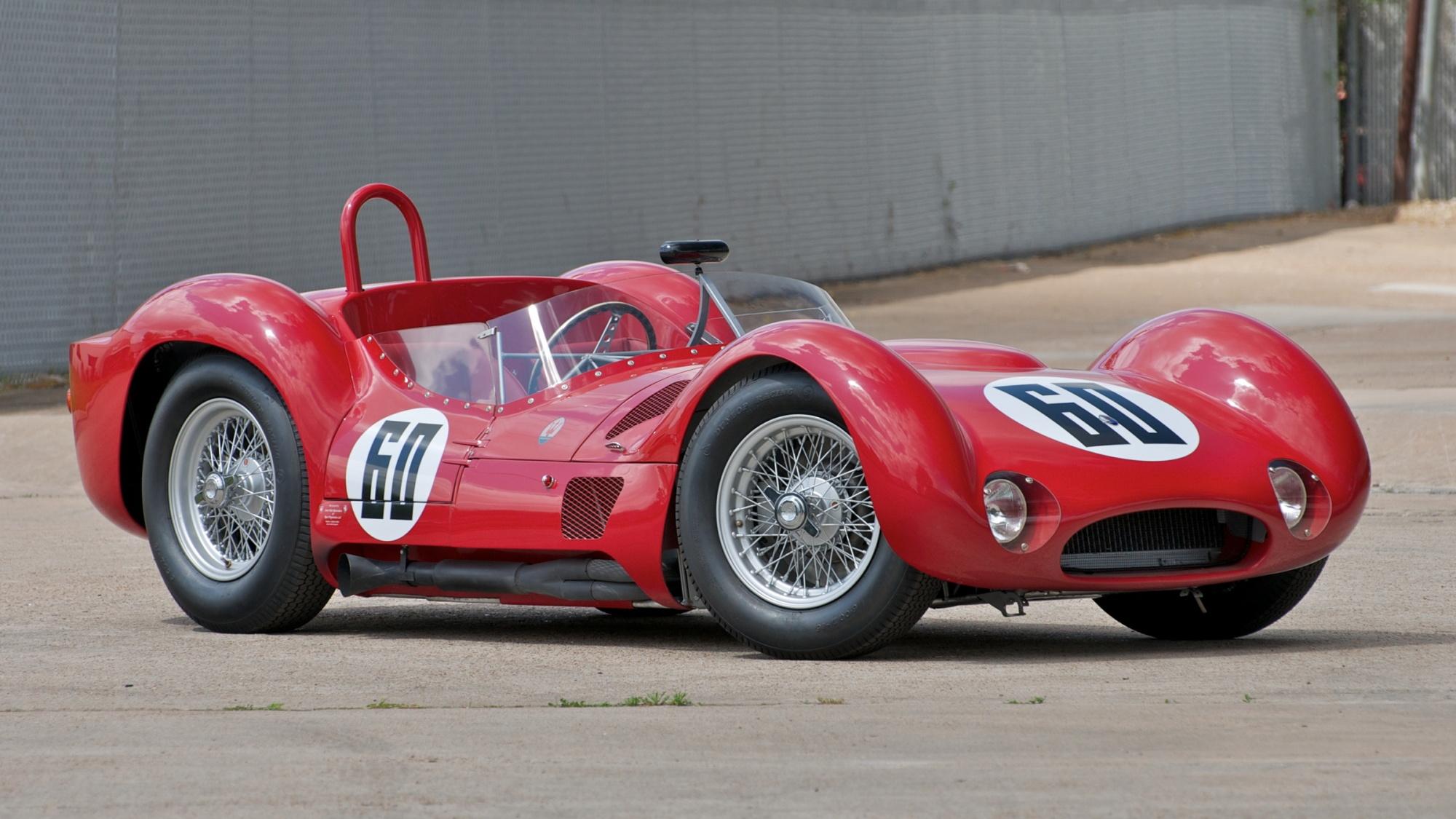 1959 Maserati Tipo 61/60 'Birdcage' reconstruction