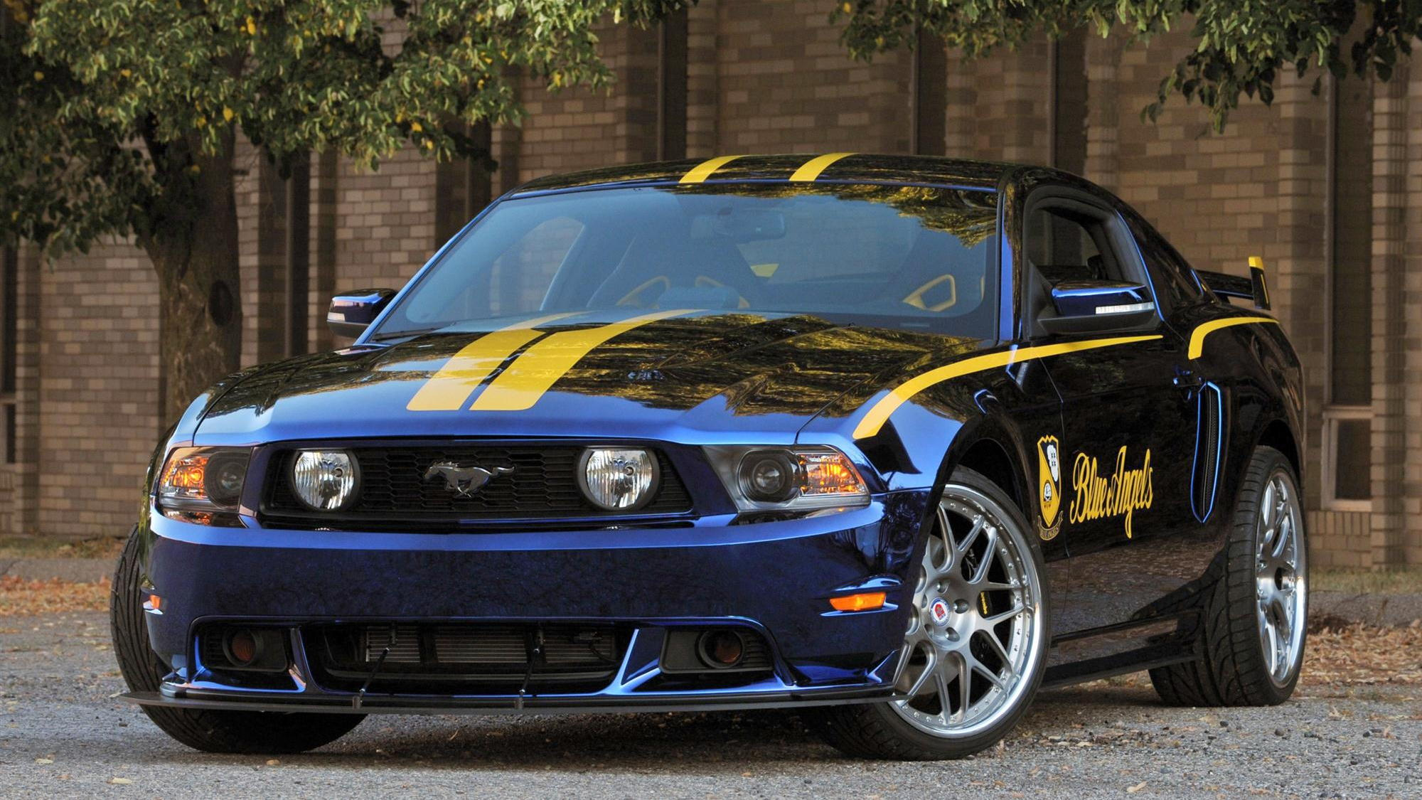 2012 Ford Mustang GT Blue Angels Edition