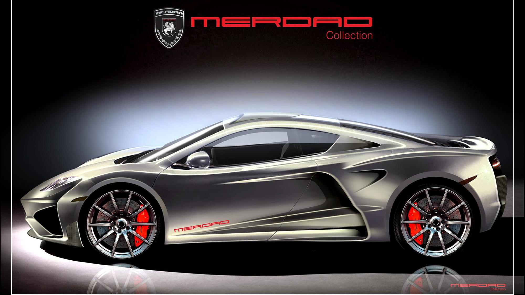 Merdad MehRon McLaren MP4-12C