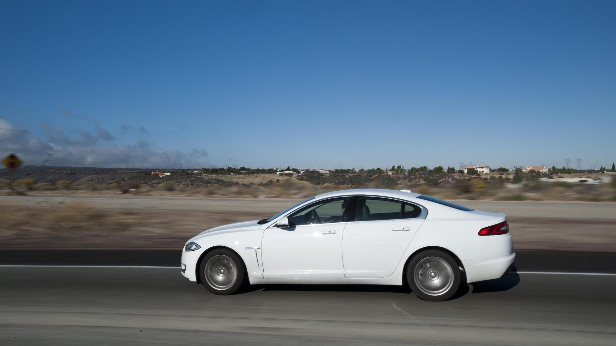 Jaguar XF 2.2 Diesel, New York to L.A. tour