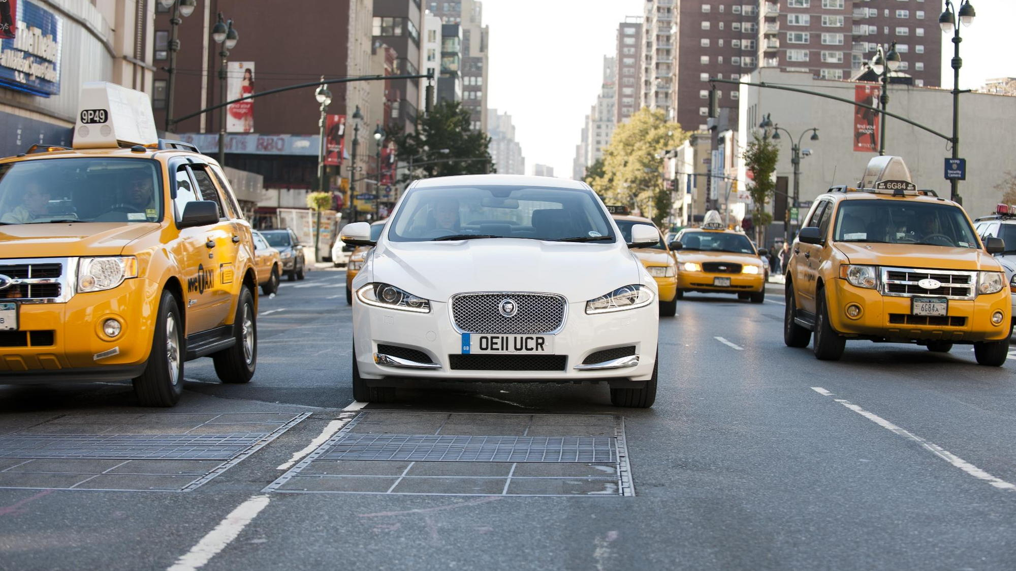 Jaguar XF 2.2 Diesel, New York to L.A. tour