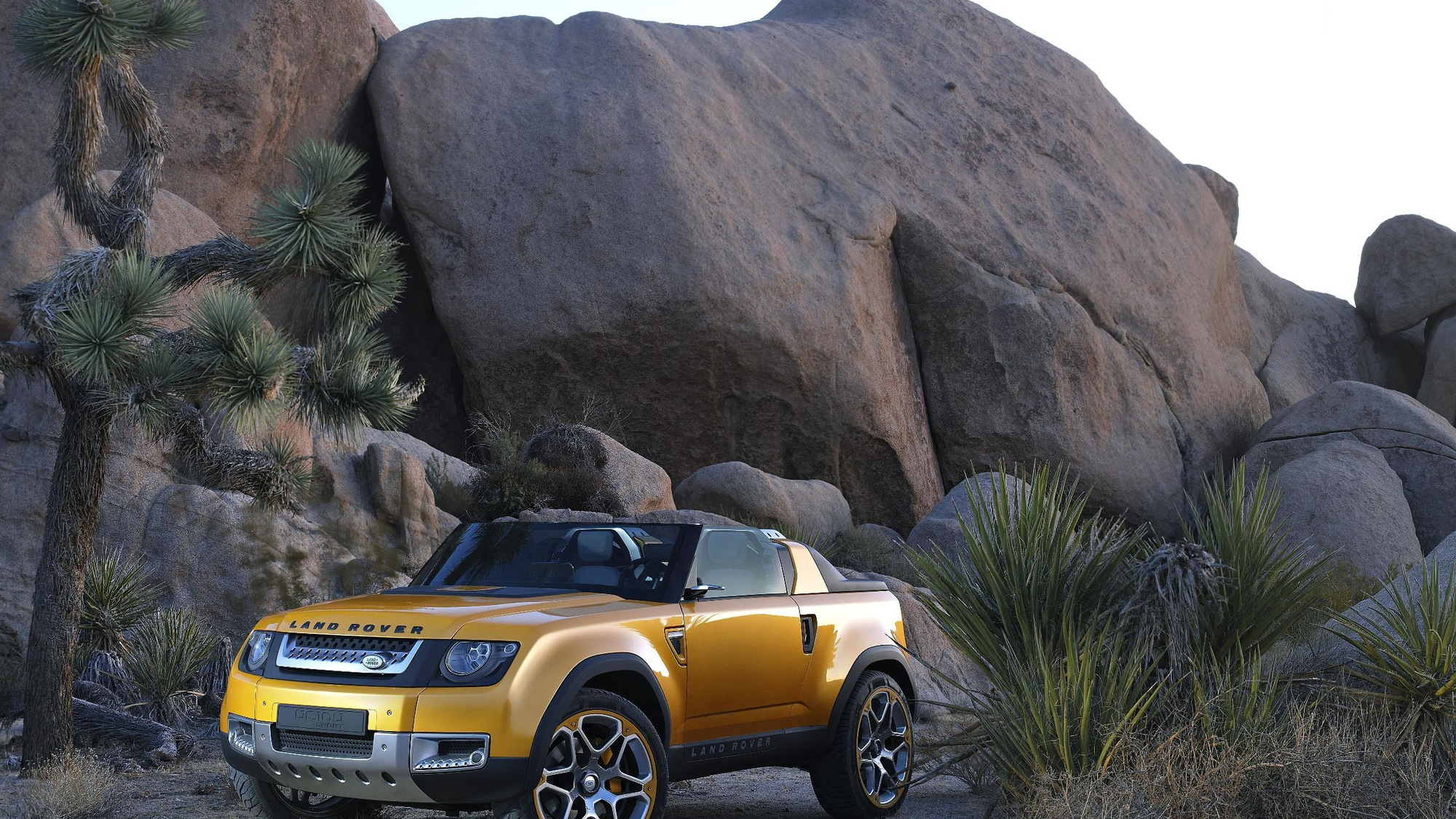 Land Rover's DC100 Sport concept