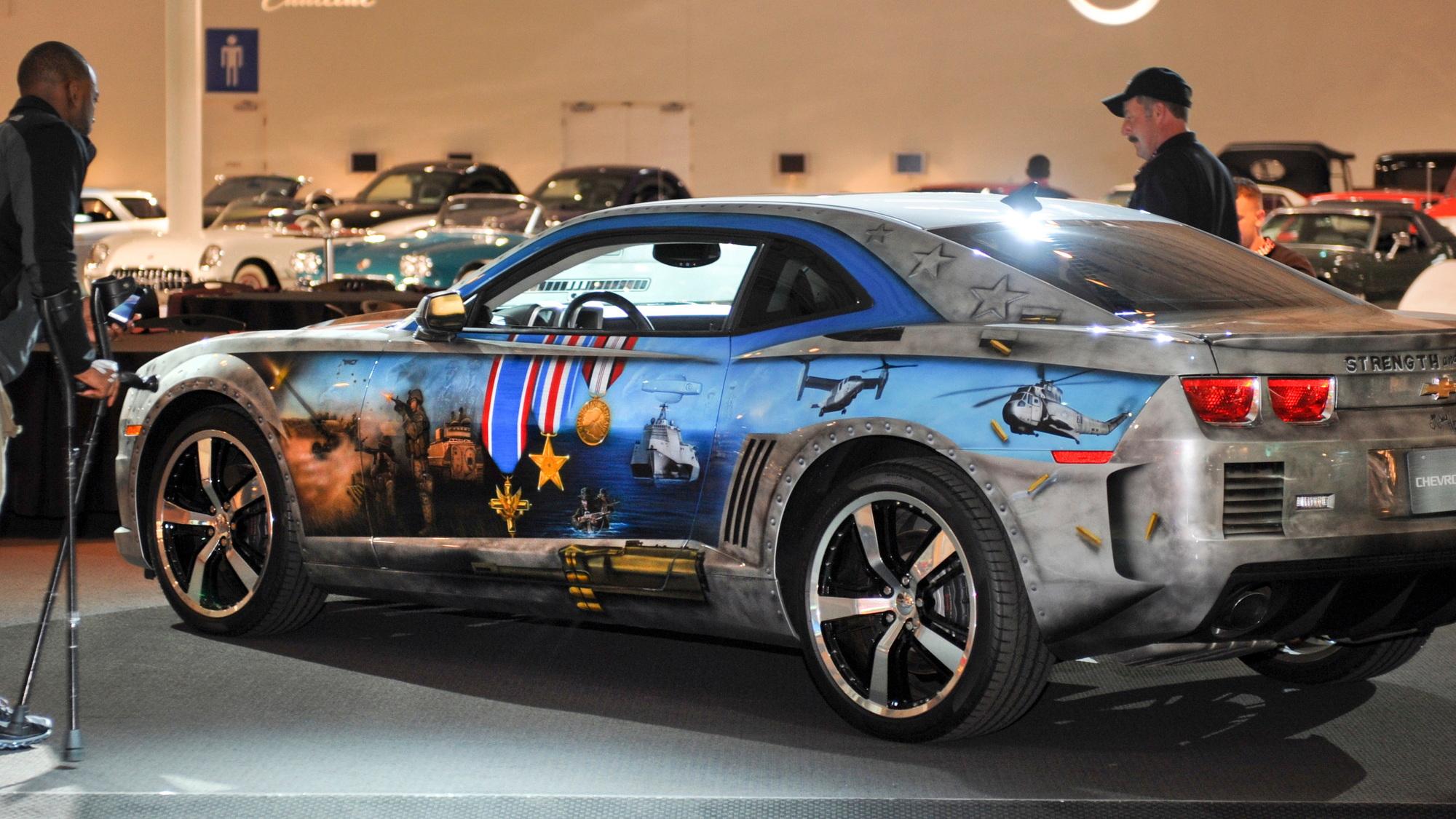 The Military Tribute Edition Chevrolet Camaro