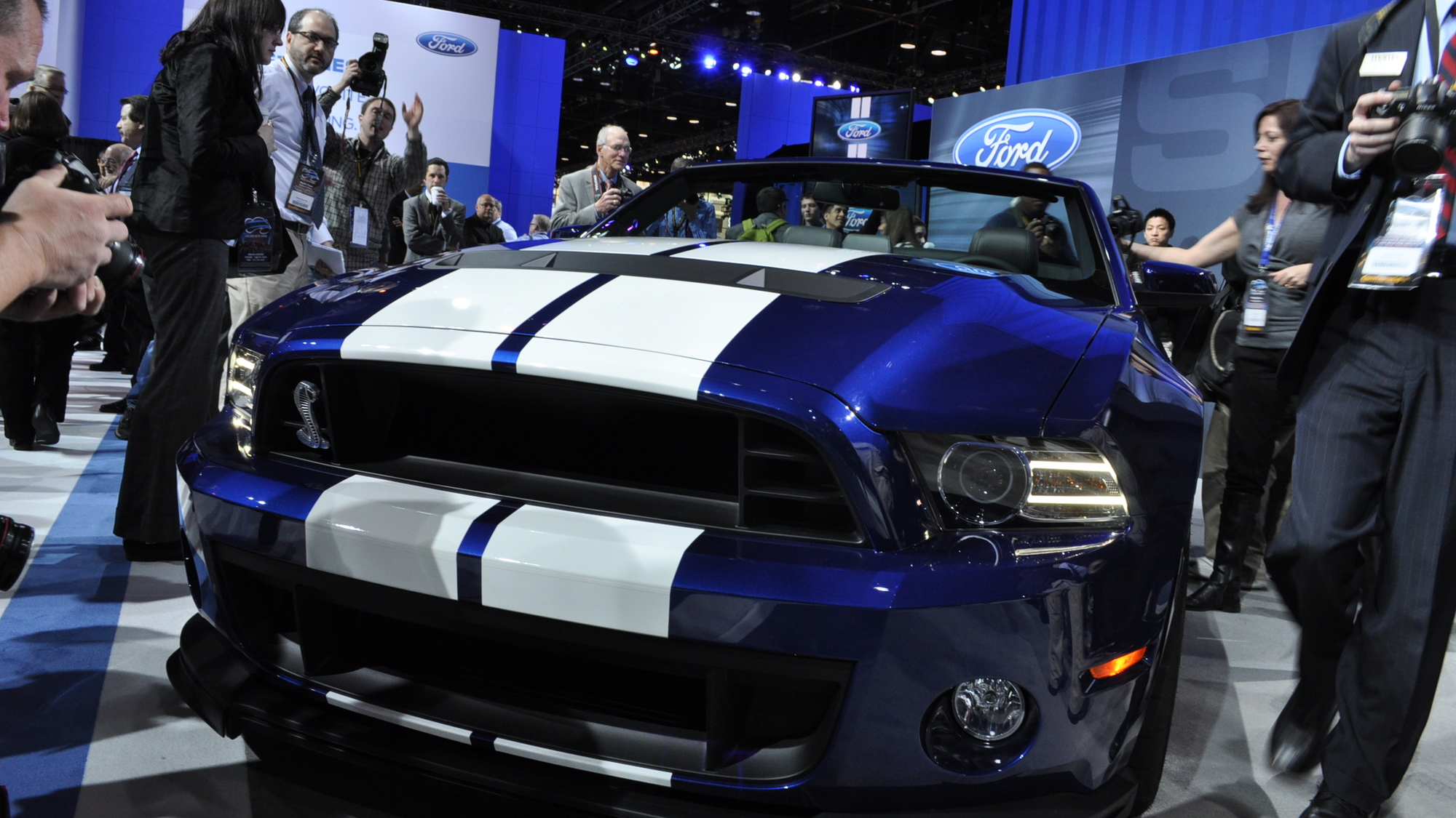 2013 Ford Mustang Shelby GT500 Convertible