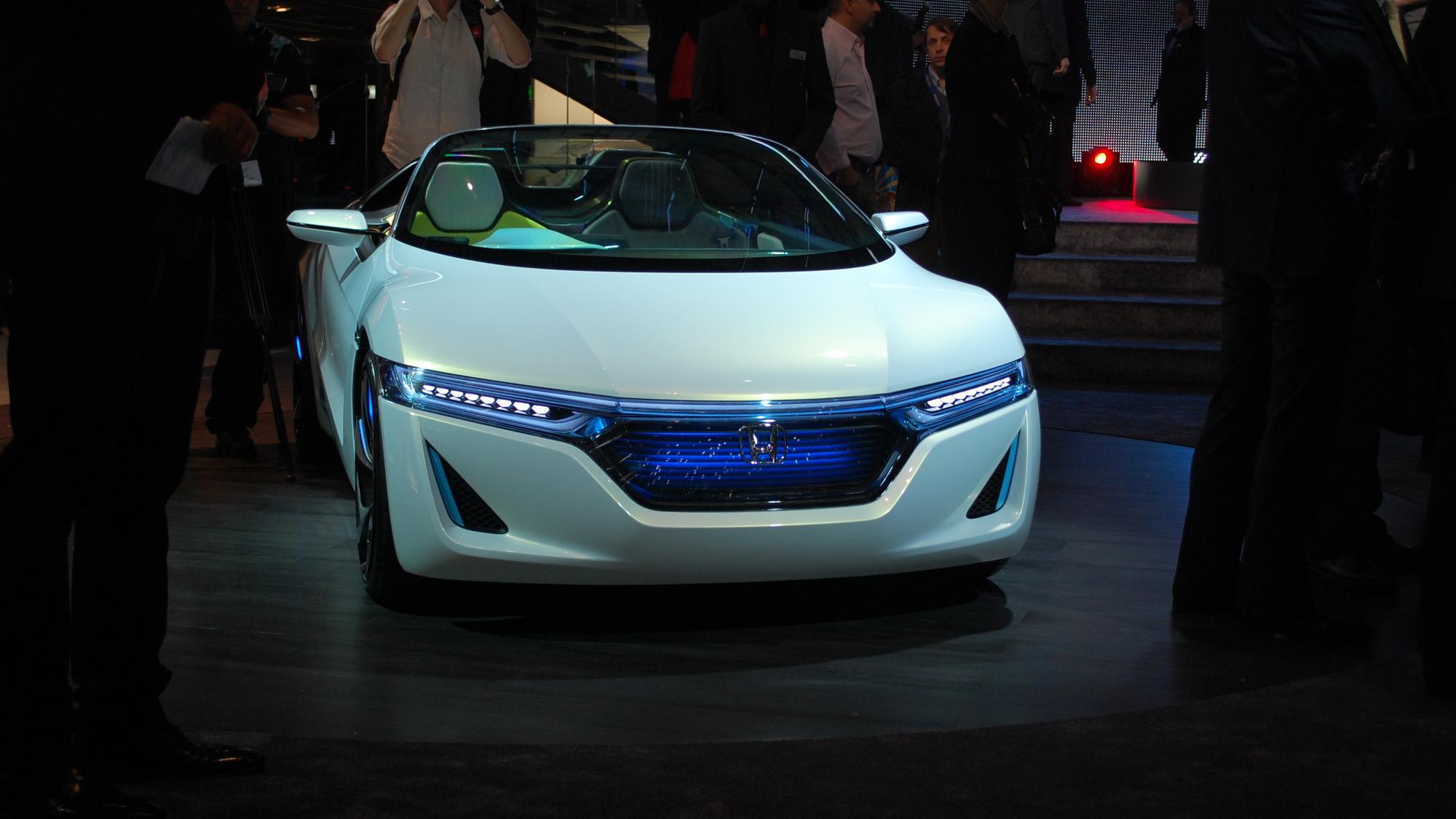 Honda EV-STER Concept live photos