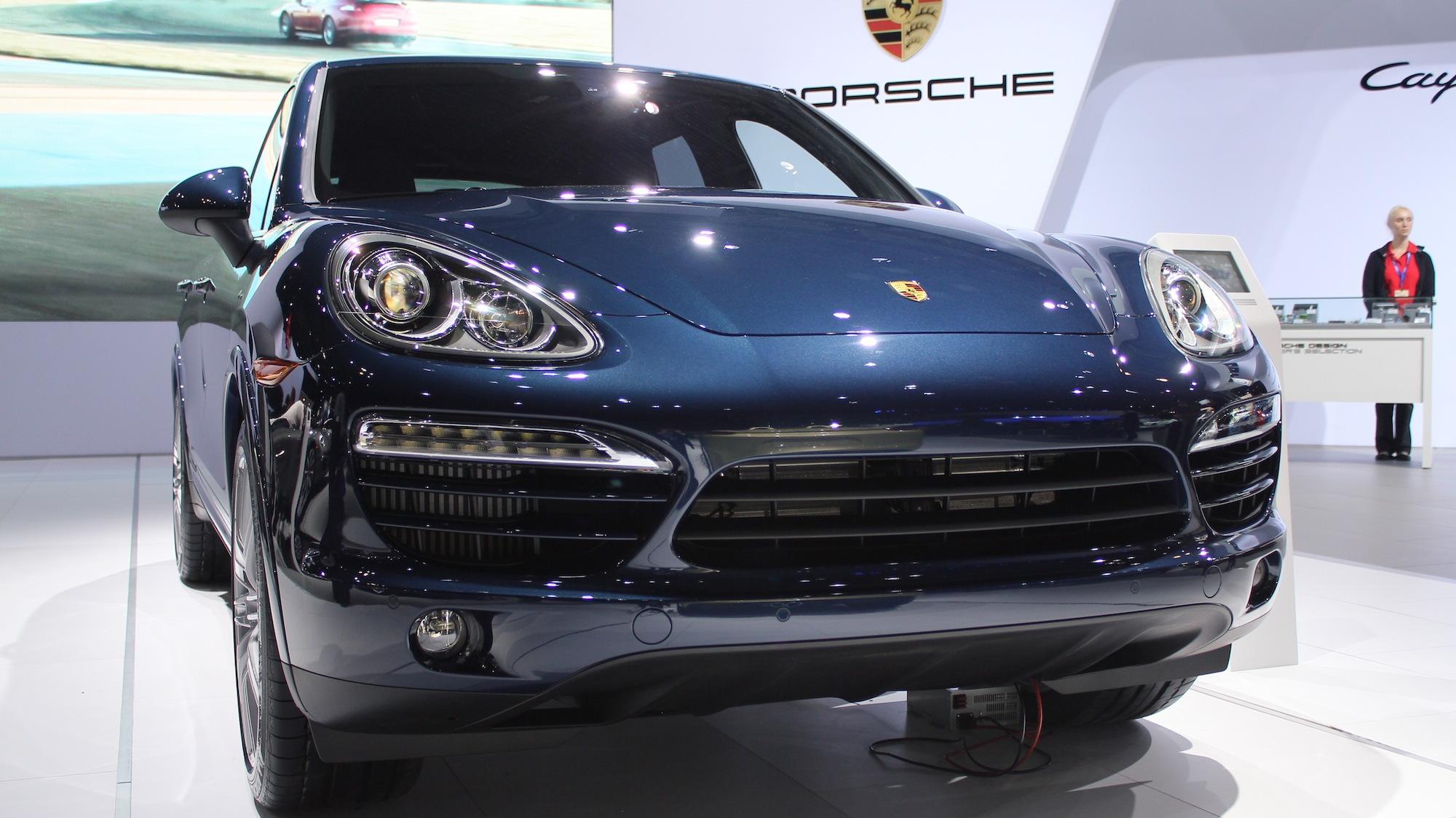 2013 Porsche Cayenne Diesel, 2012 New York Auto Show
