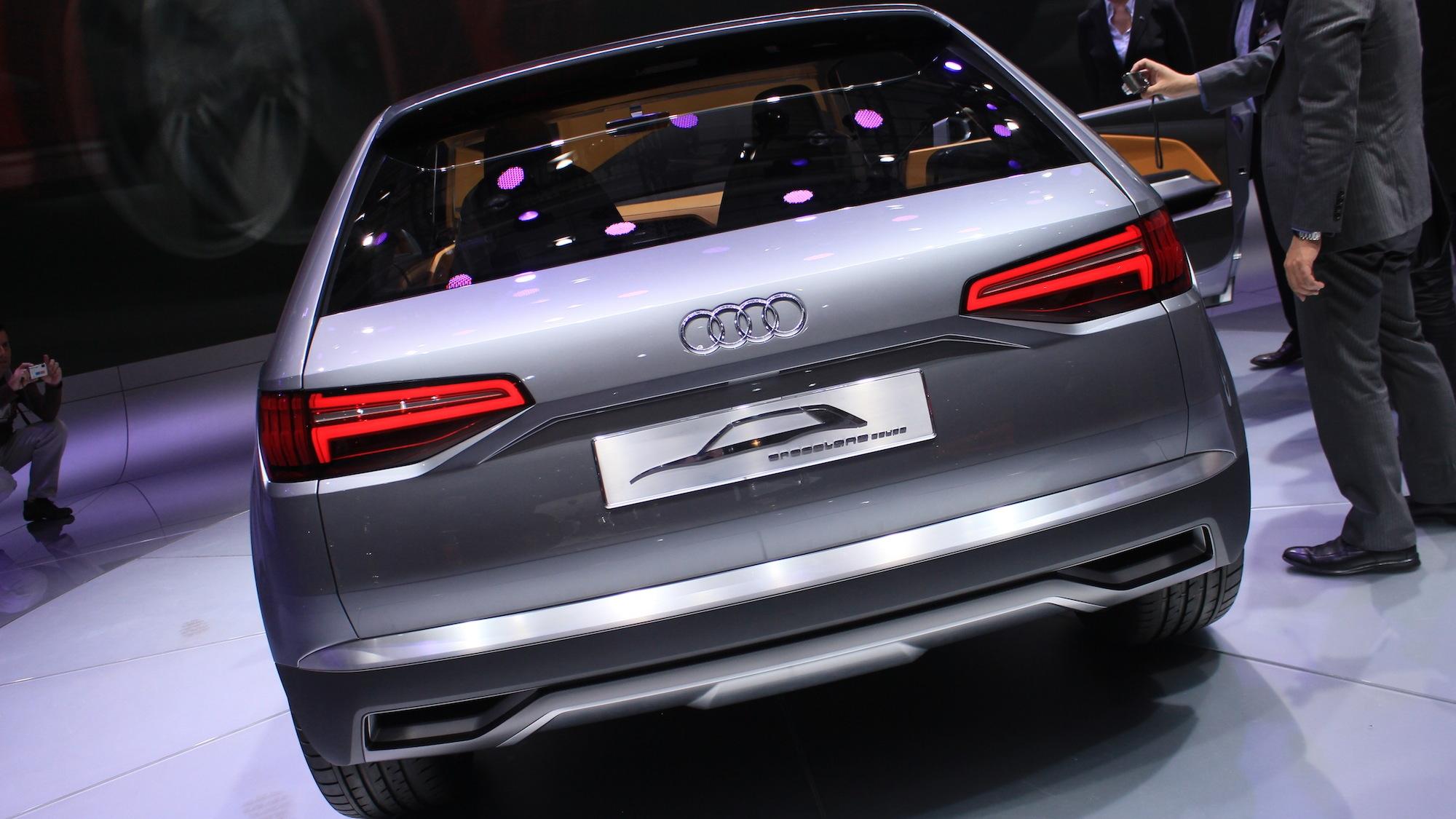 Audi Crosslane Concept, 2012 Paris Auto Show