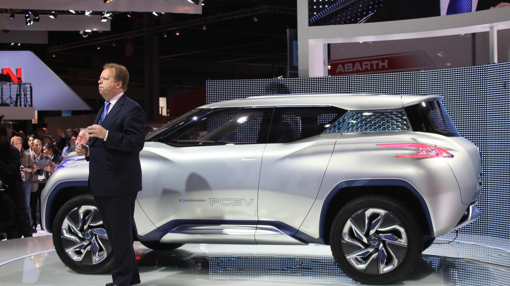 Nissan Terra FCEV Concept, 2012 Paris Auto Show