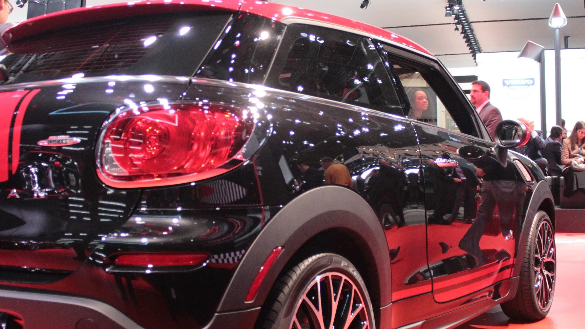 MINI Paceman John Cooper Work live photos, 2013 Detroit Auto Show