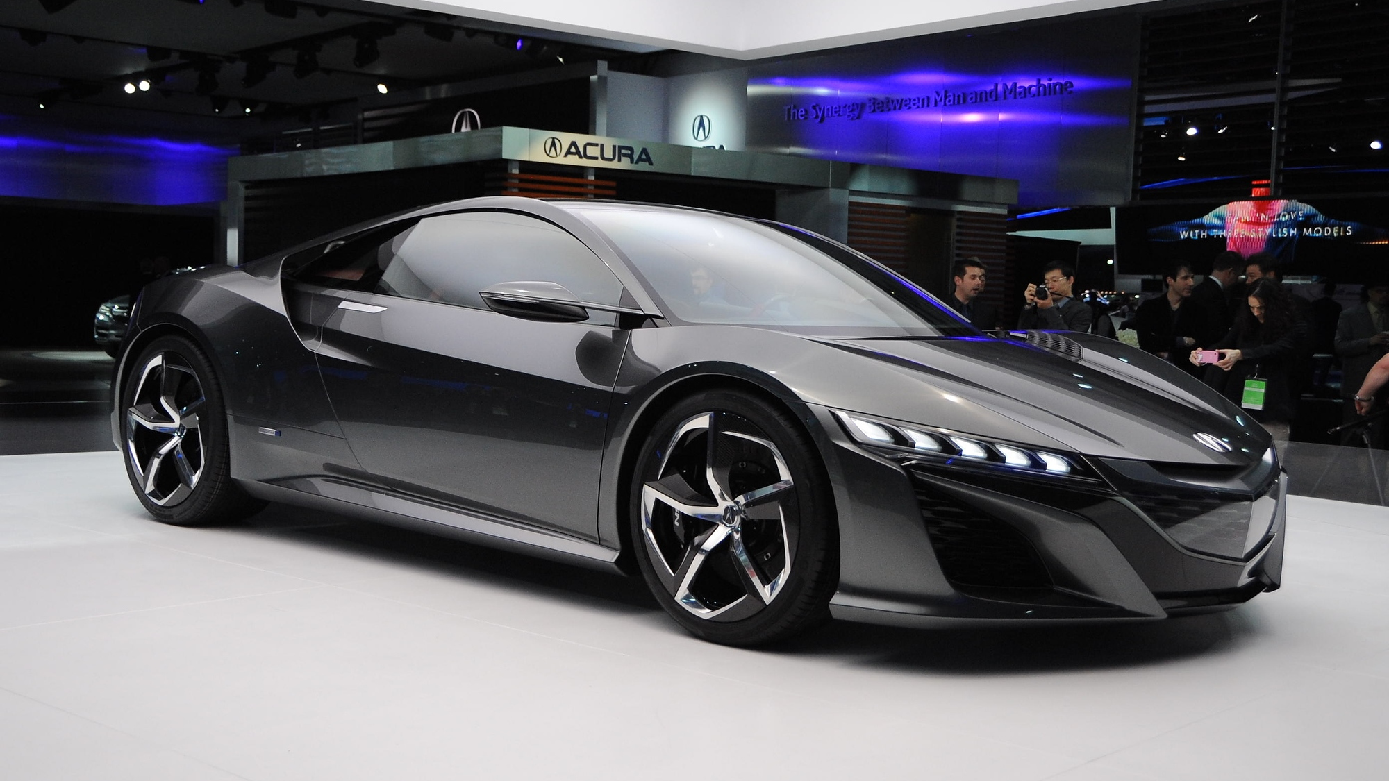 Acura NSX Hybrid Supercar Pre-Order Books Open... In UK