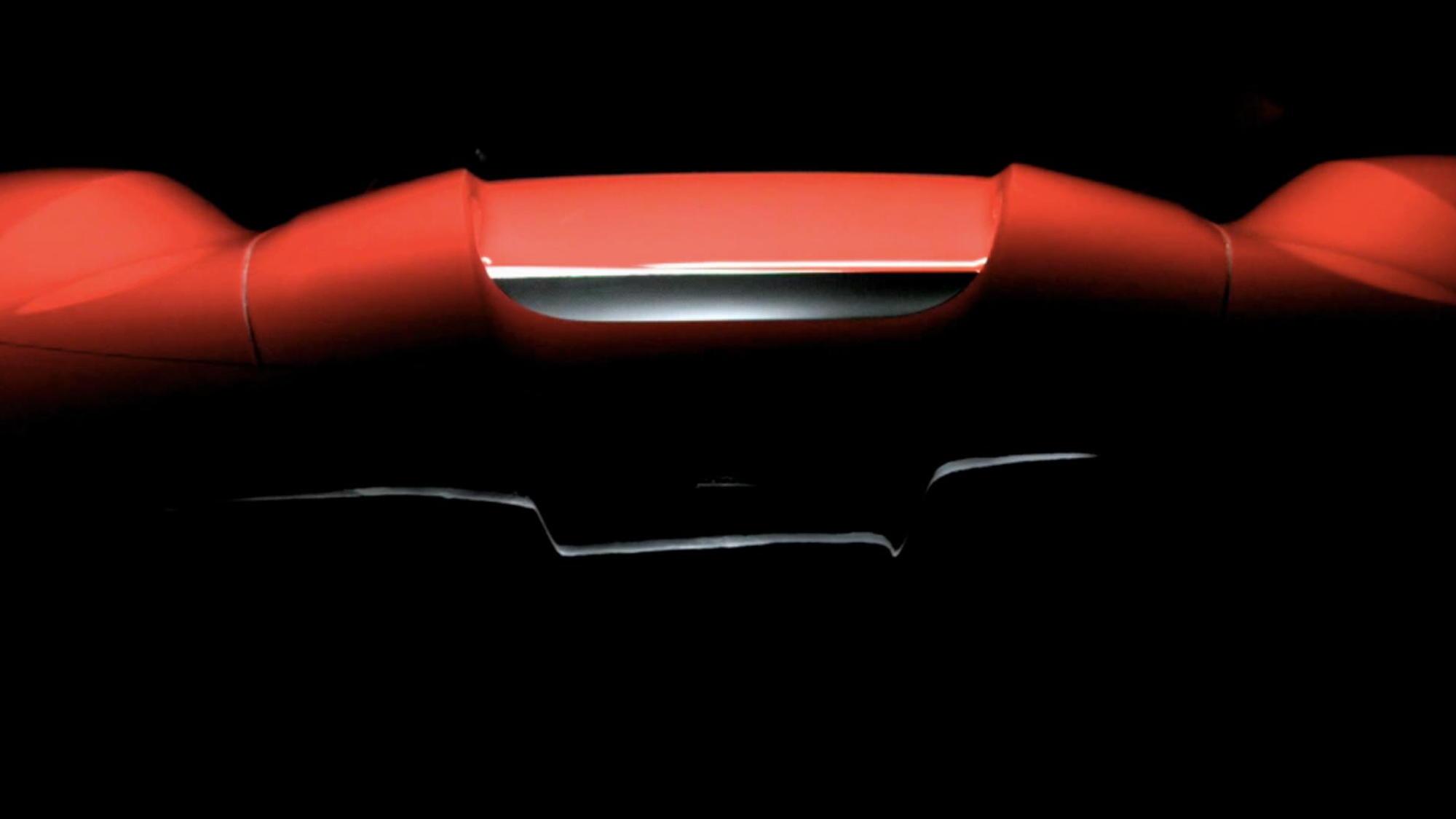 Ferrari 'Special Series Car' teaser image