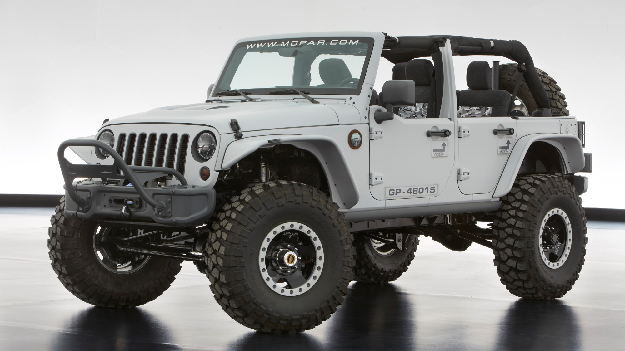 Jeep Wrangler Mopar Recon, 2013 Moab Easter Jeep Safari Concept