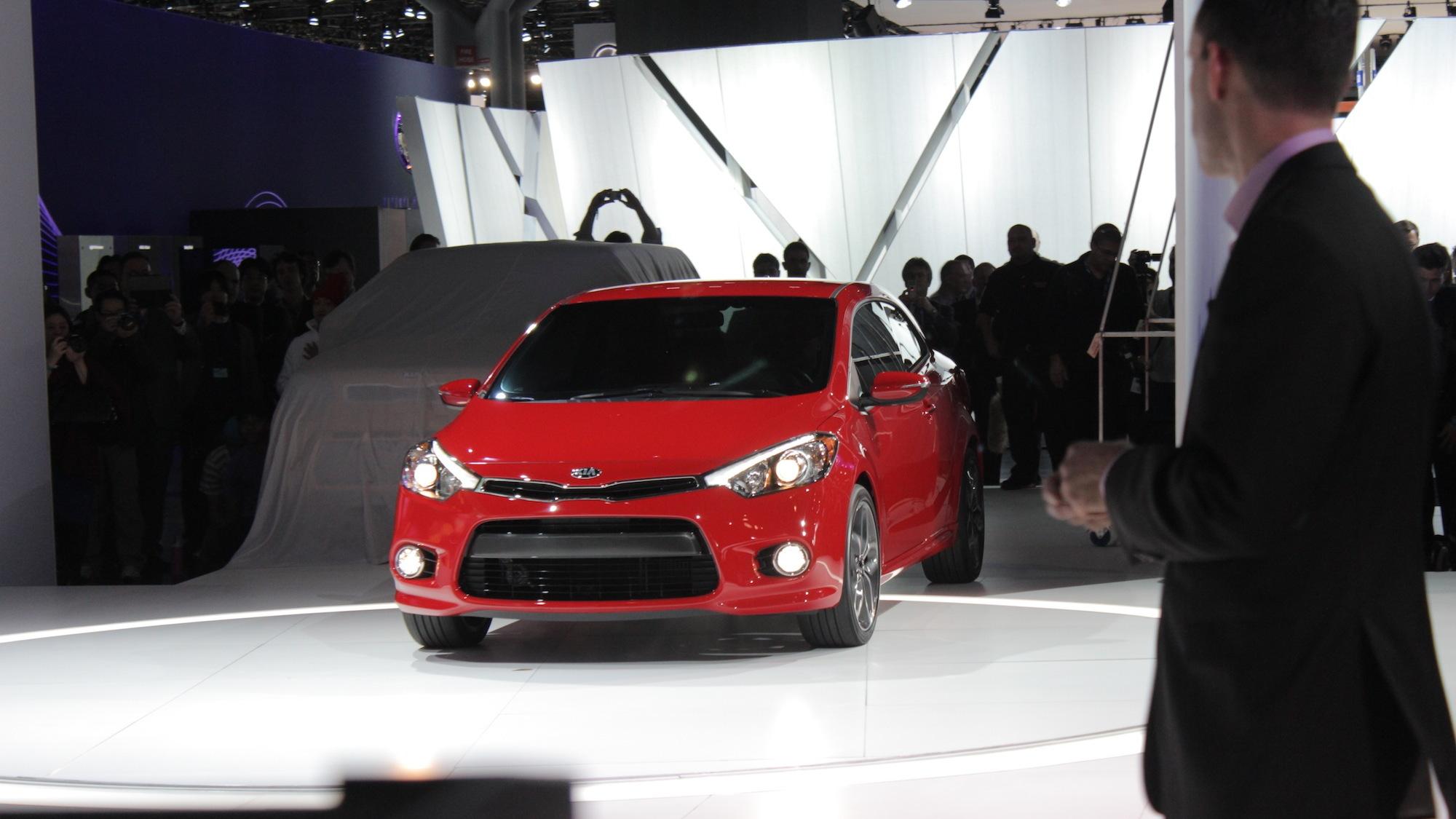 2014 Kia Forte Koup SX, 2013 New York Auto Show