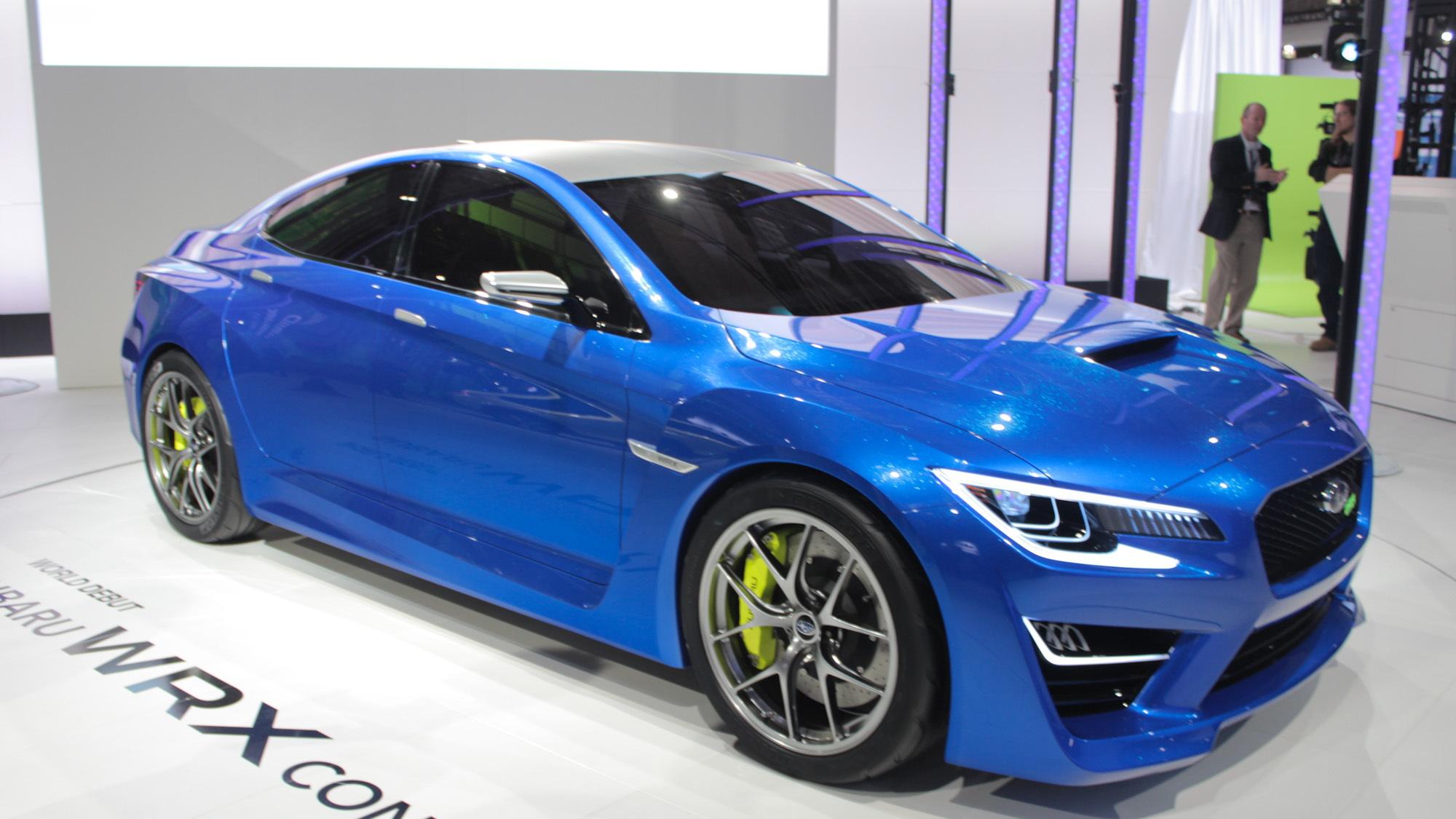 Subaru WRX Concept, 2013 New York Auto Show