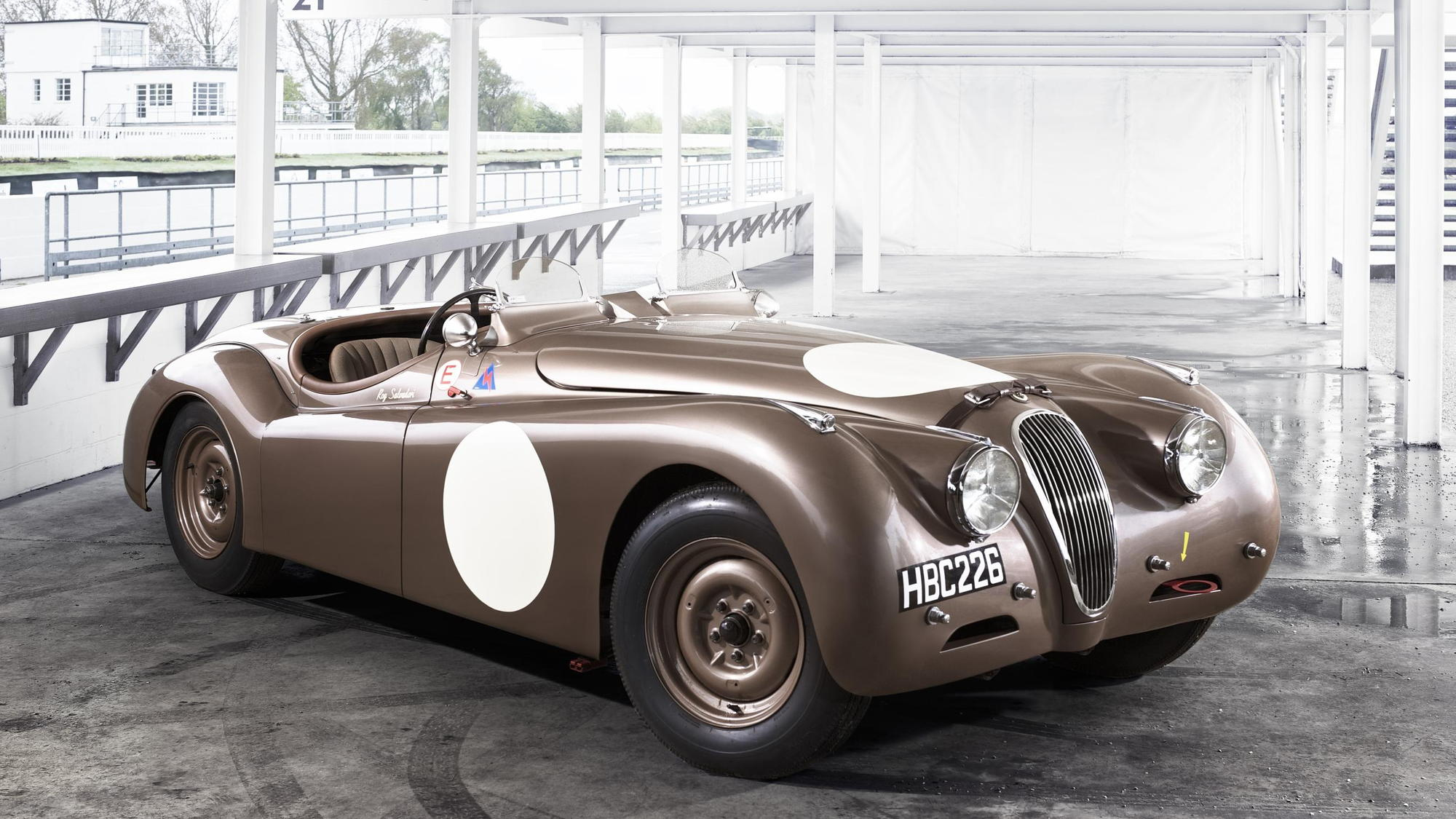 Jaguar Heritage Racing at Mille Miglia 2013.