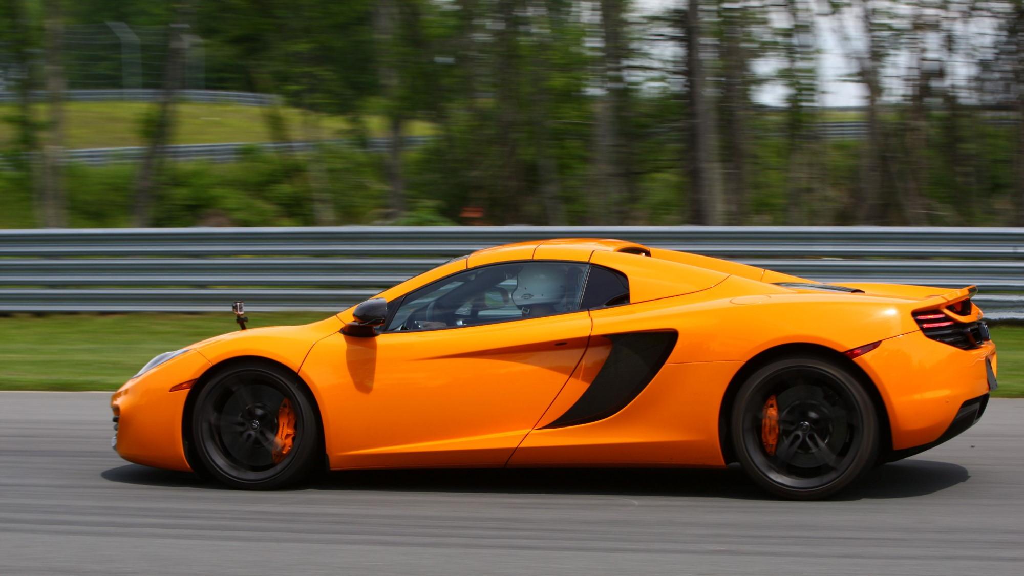 2013 McLaren MP4-12C Spider track day