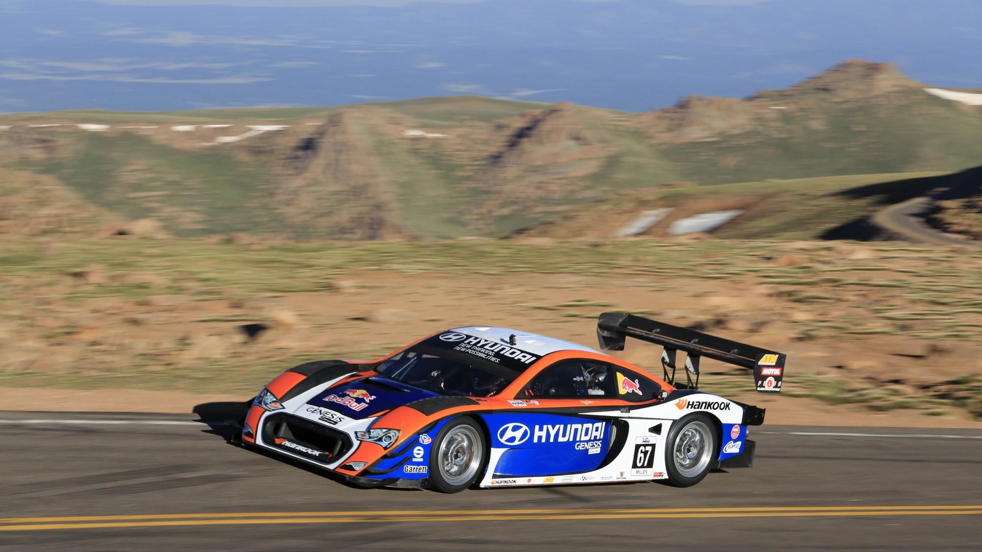 Rhys Millen Racing / Hyundai Motorsports PM580-T Pikes Peak race car