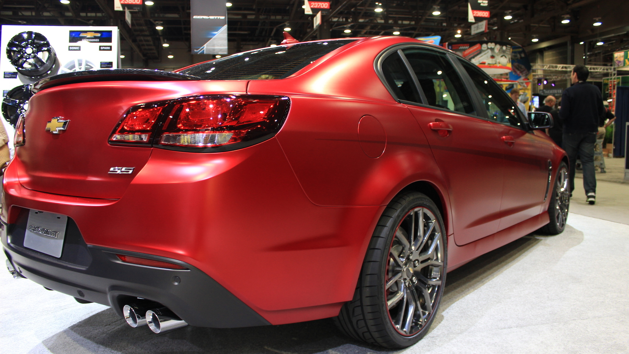 Chevrolet SS Performance Sedan Jeff Gordon Concept, 2013 SEMA Show